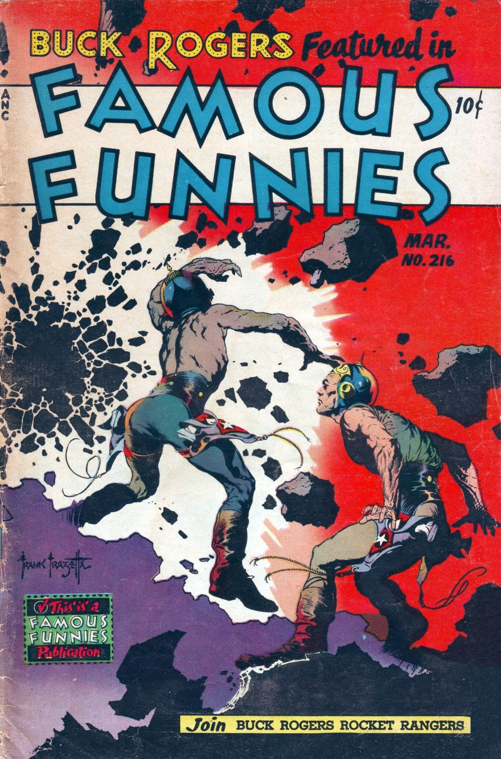Read online Famous Funnies comic -  Issue #216 - 1