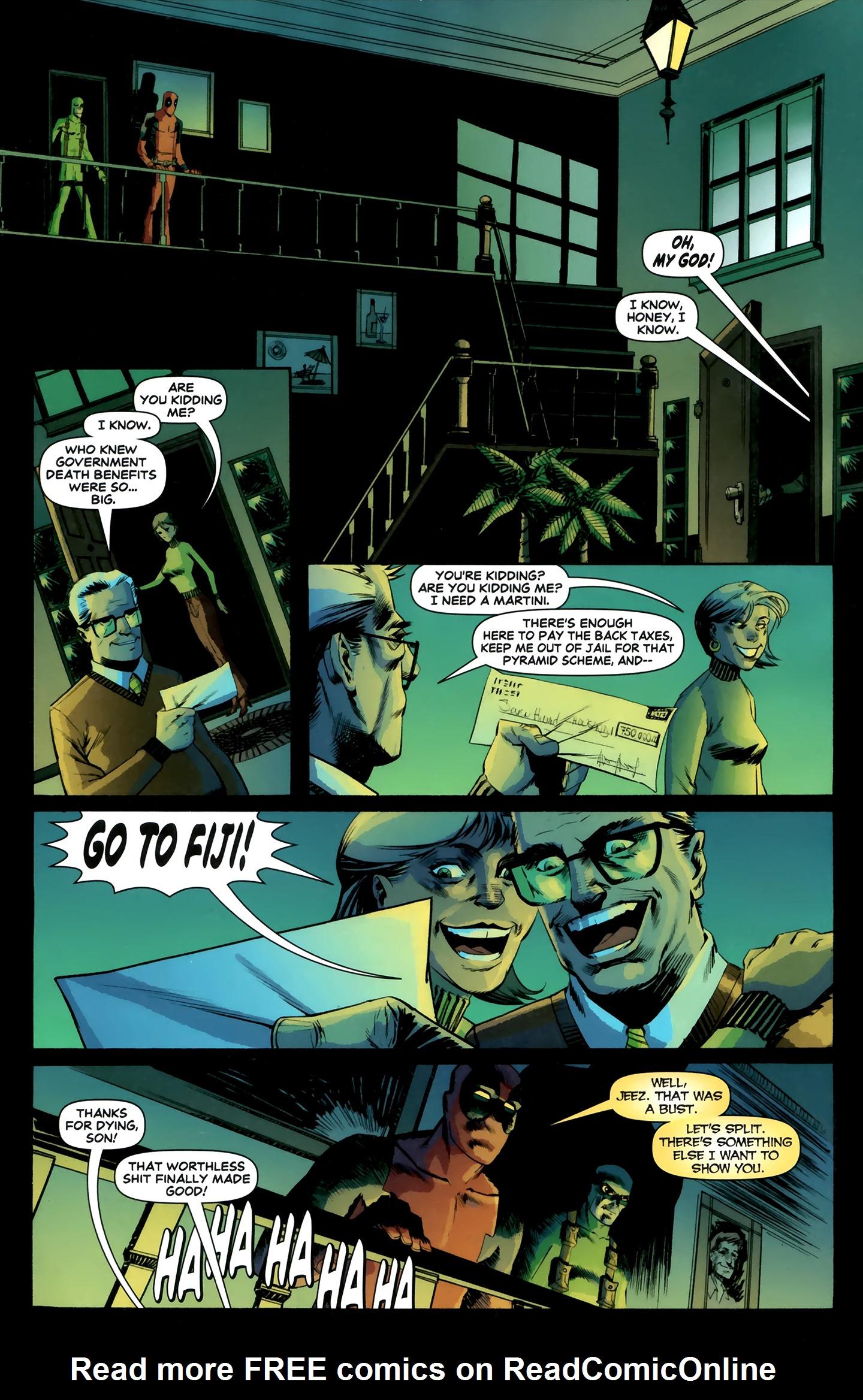 Read online Deadpool MAX X-Mas Special comic -  Issue # Full - 24