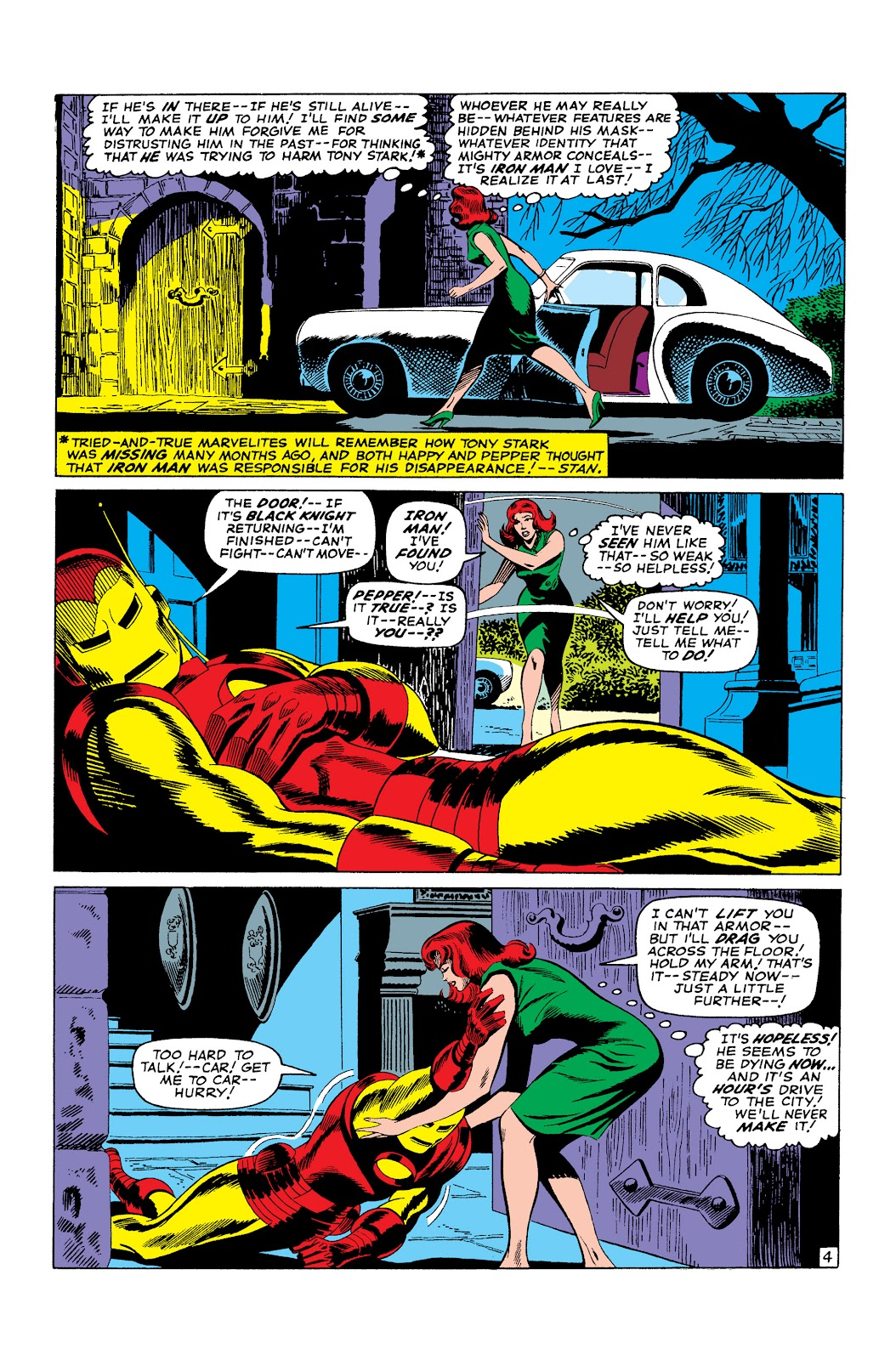 Read online Marvel Masterworks: The Invincible Iron Man comic -  Issue # TPB 3 (Part 2) - 91
