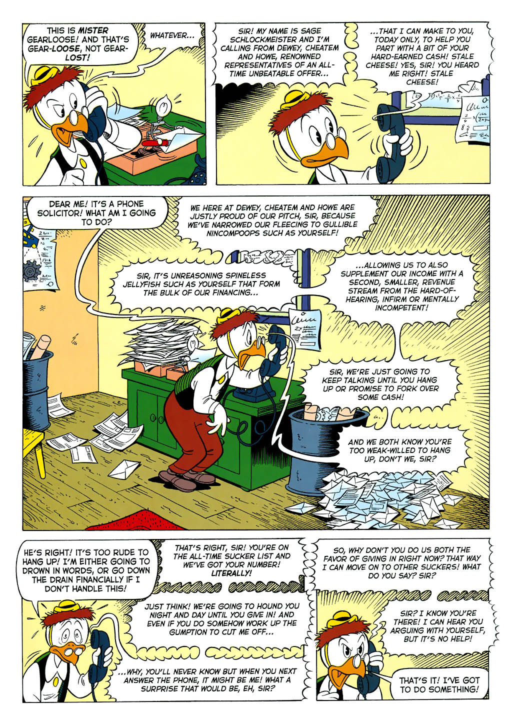 Read online Uncle Scrooge (1953) comic -  Issue #323 - 17