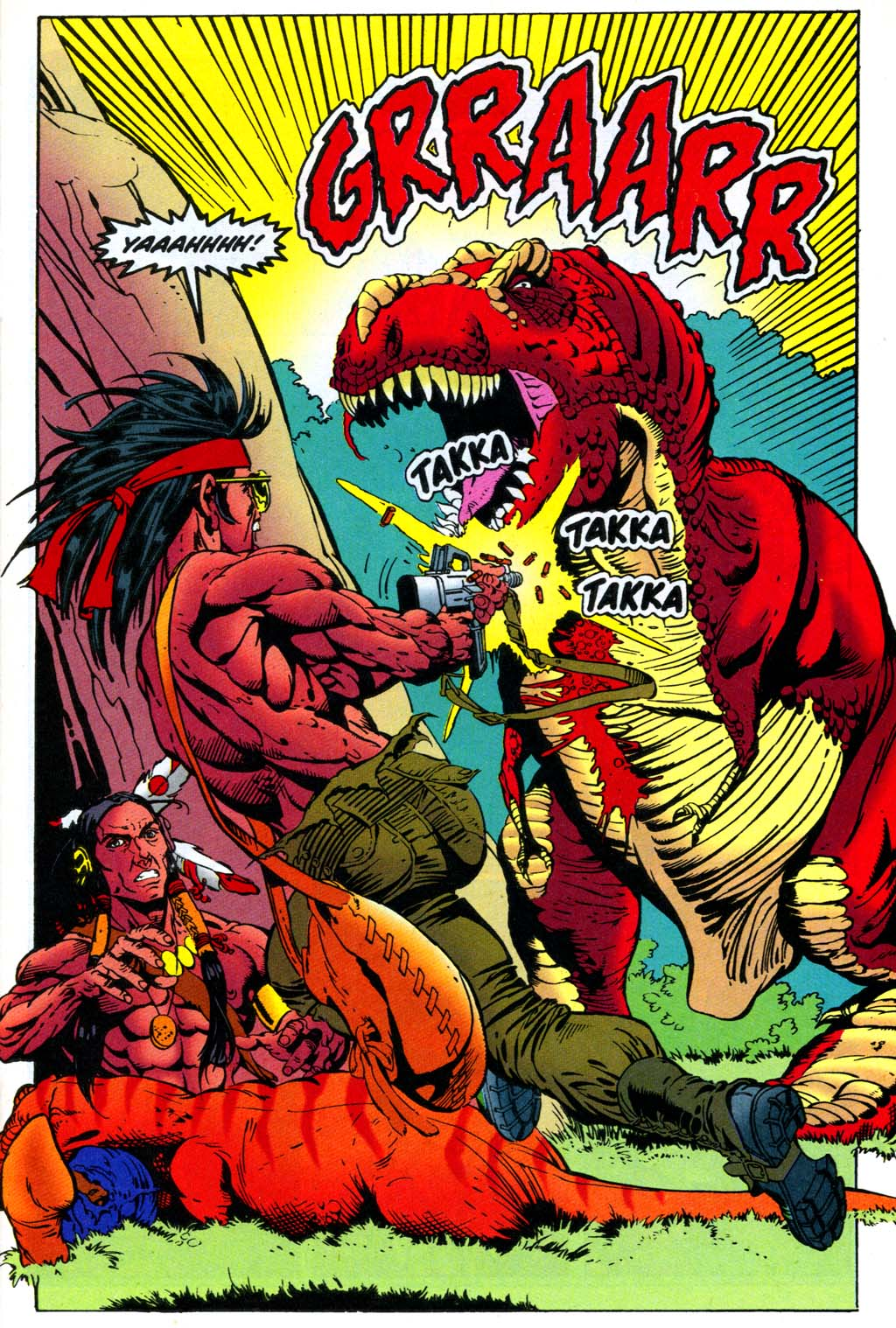 Read online Turok, Dinosaur Hunter (1993) comic -  Issue #47 - 20