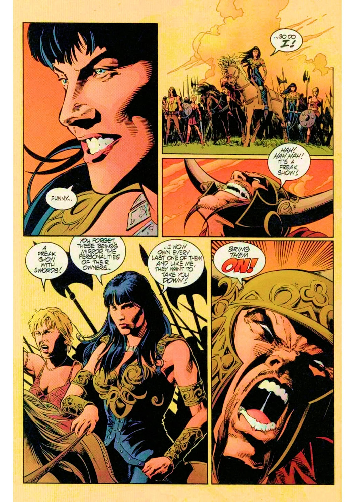 Xena: Warrior Princess (1999) Issue #14 #14 - English 21