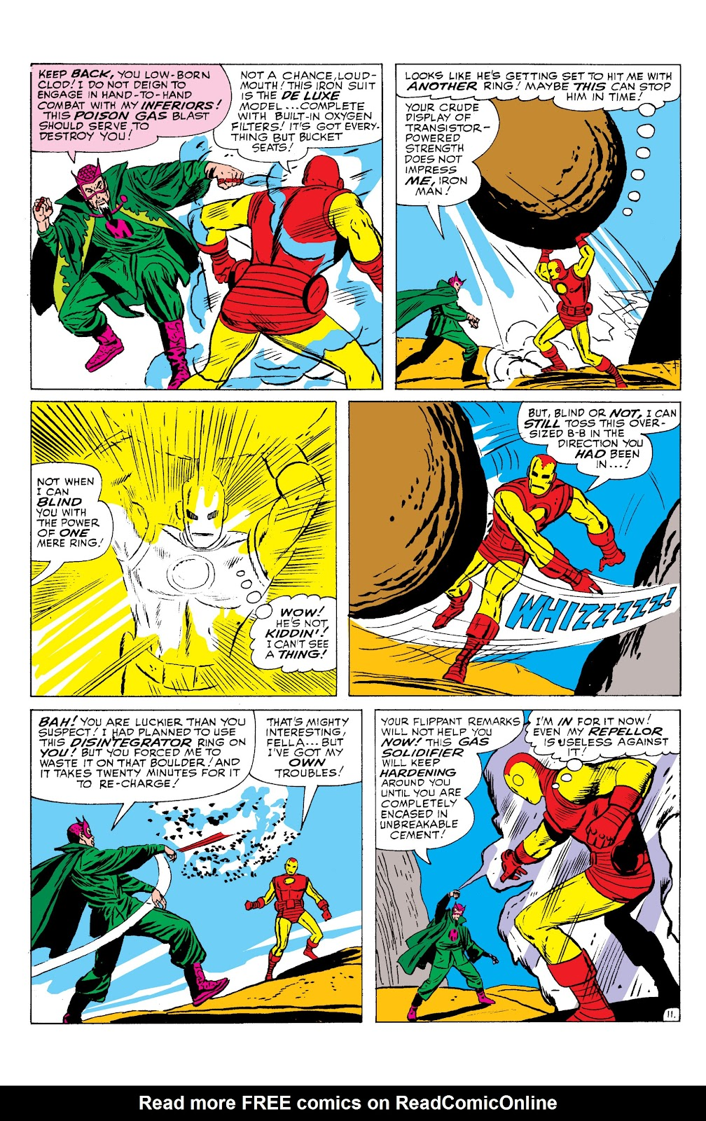 Read online Marvel Masterworks: The Invincible Iron Man comic -  Issue # TPB 2 (Part 2) - 97