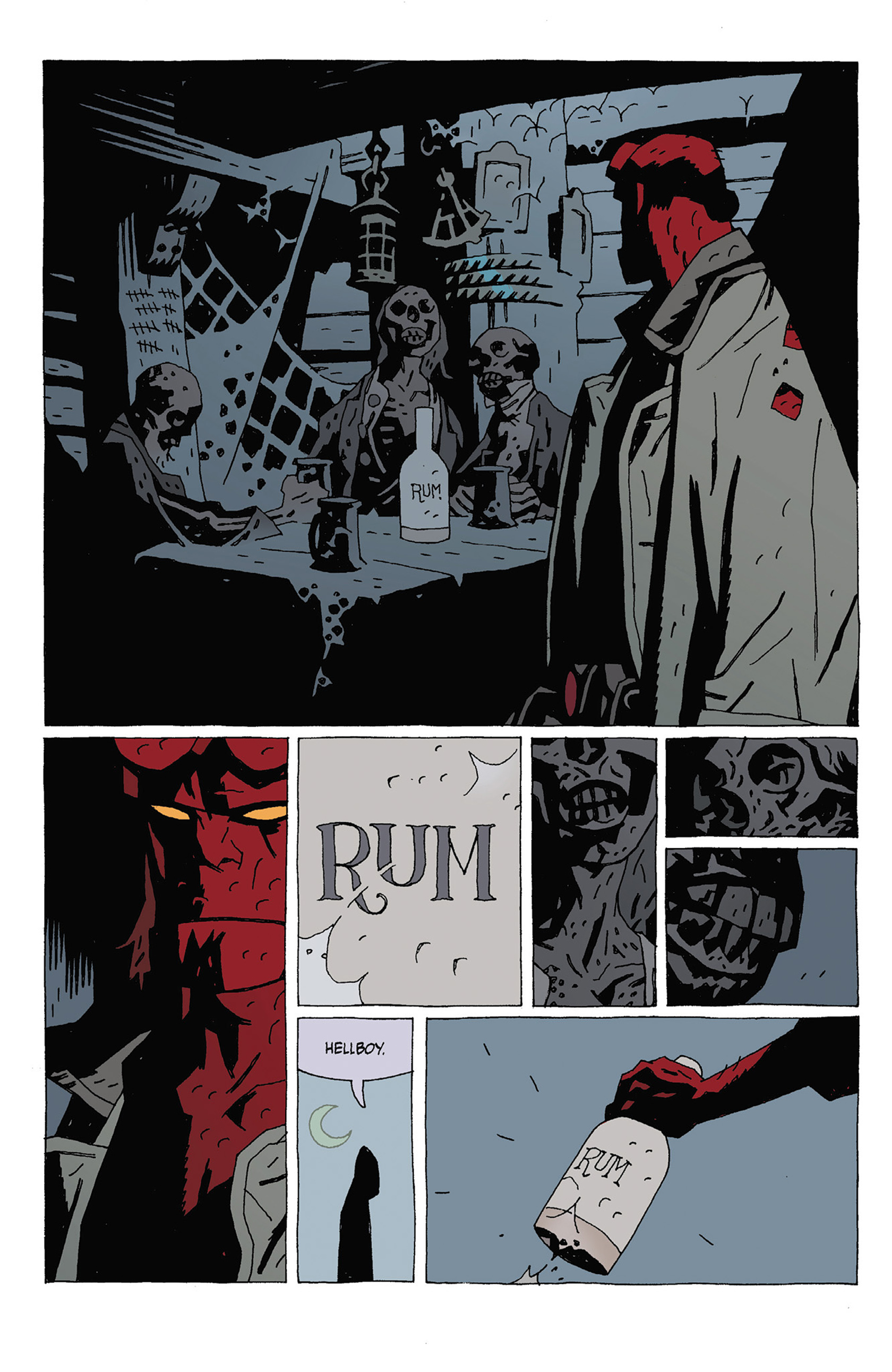Read online Hellboy: Strange Places comic -  Issue # TPB - 74