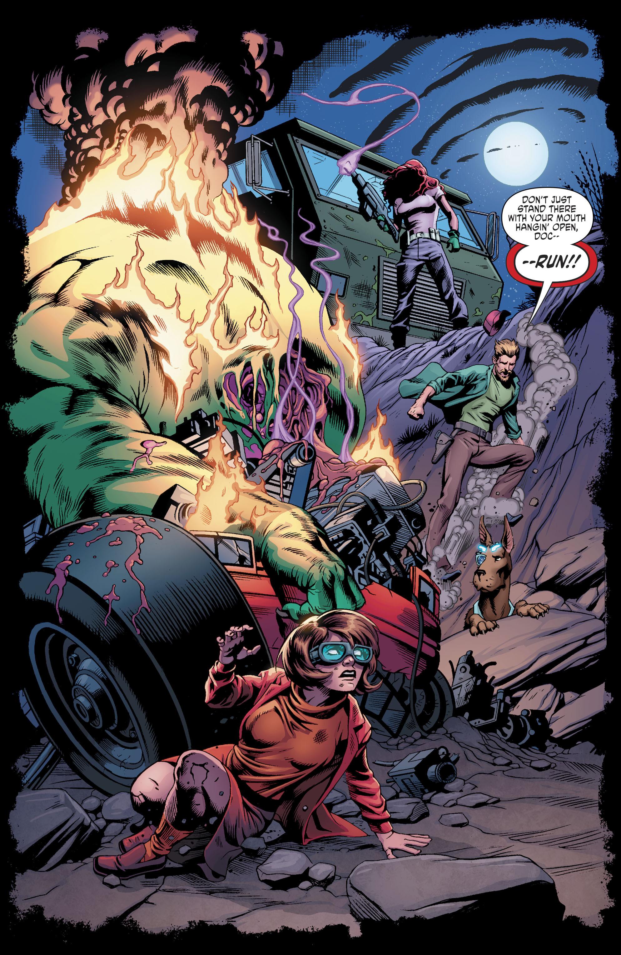 Read online Scooby Apocalypse comic -  Issue #11 - 17