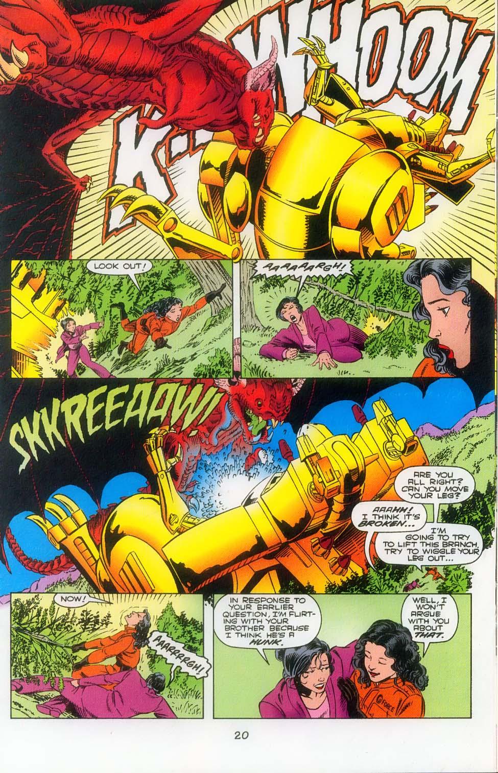 Godzilla (1995) Issue #3 #4 - English 22