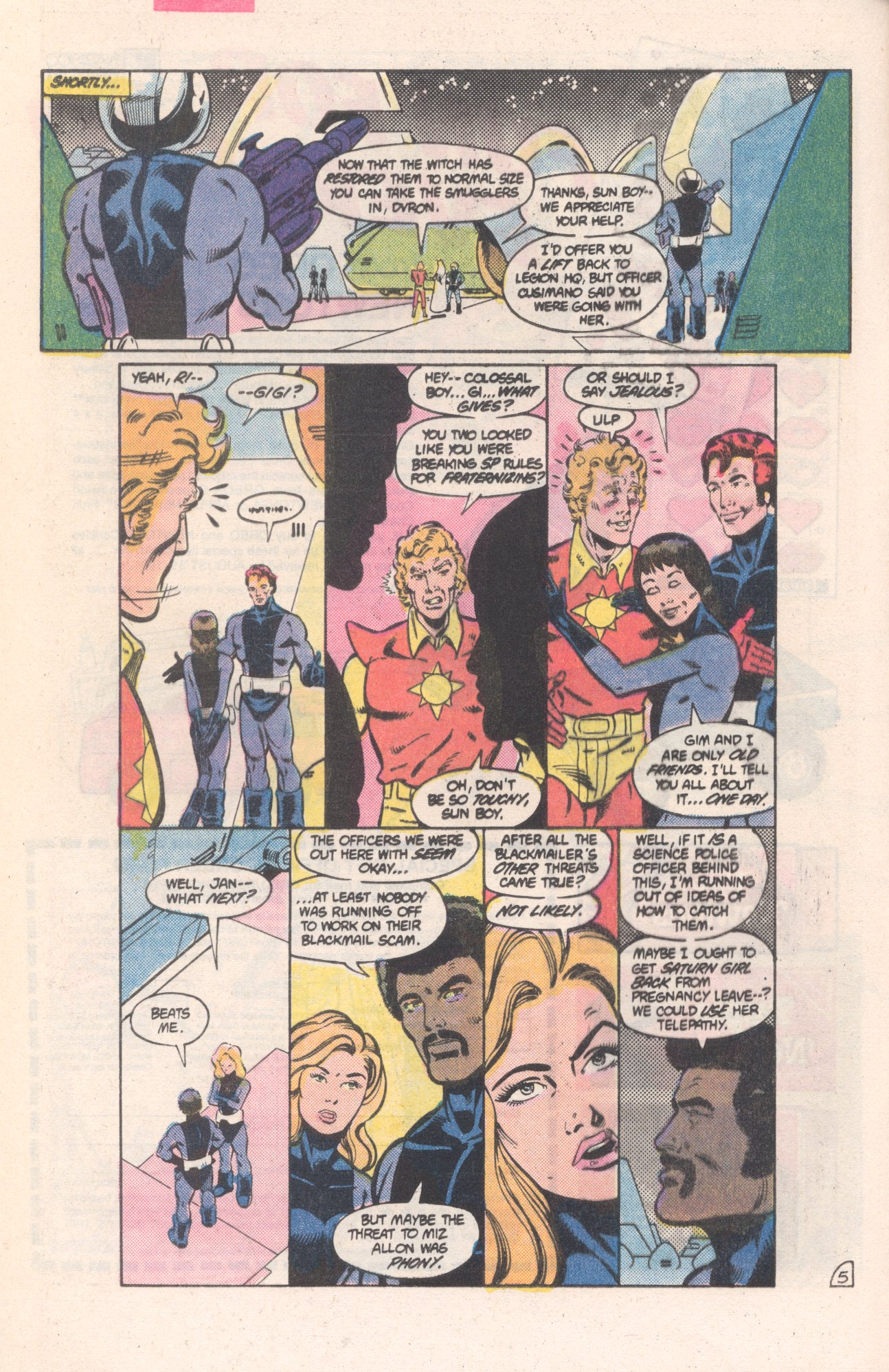 Legion of Super-Heroes (1980) 313 Page 5