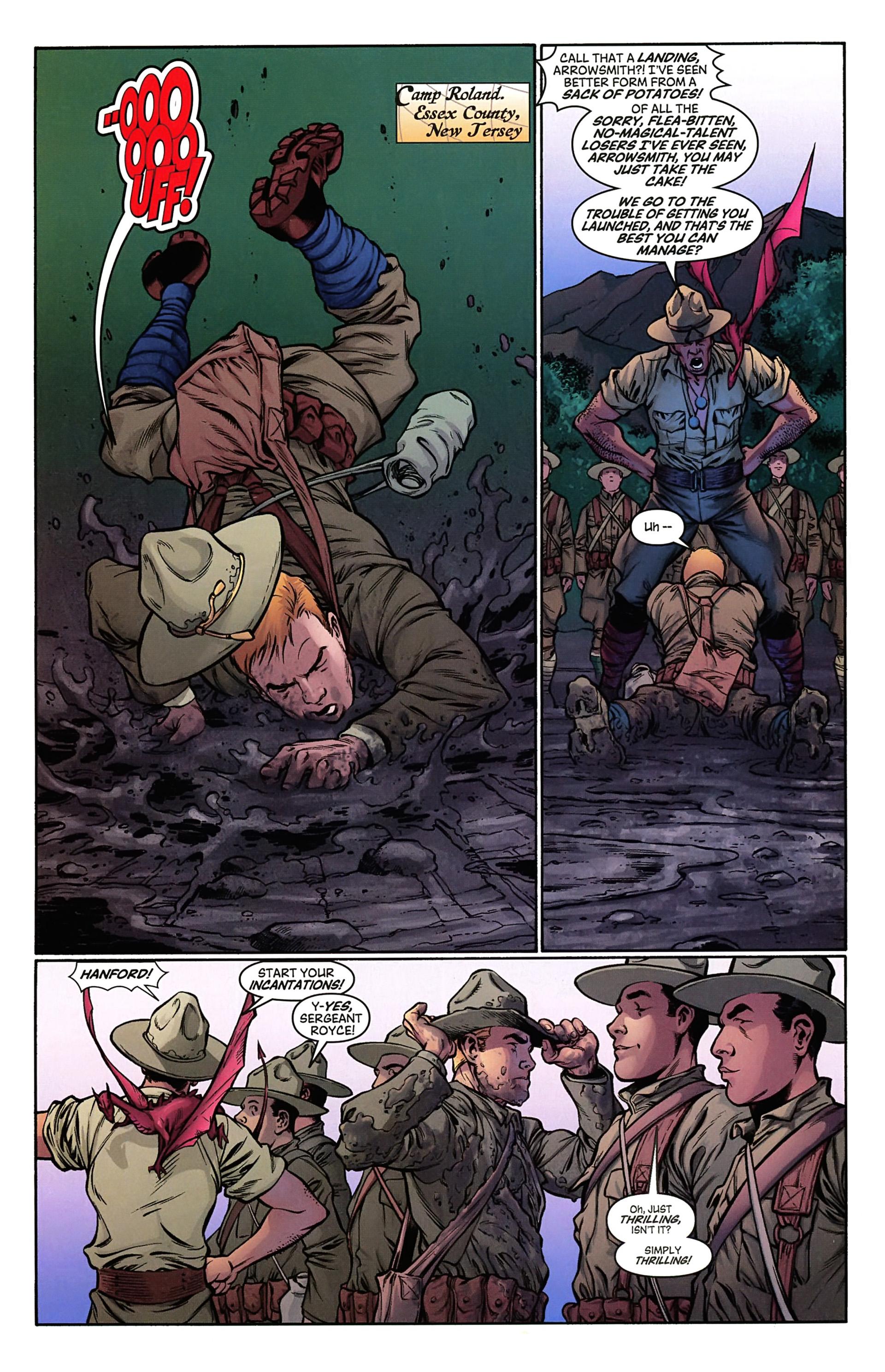 Read online Arrowsmith comic -  Issue #2 - 7