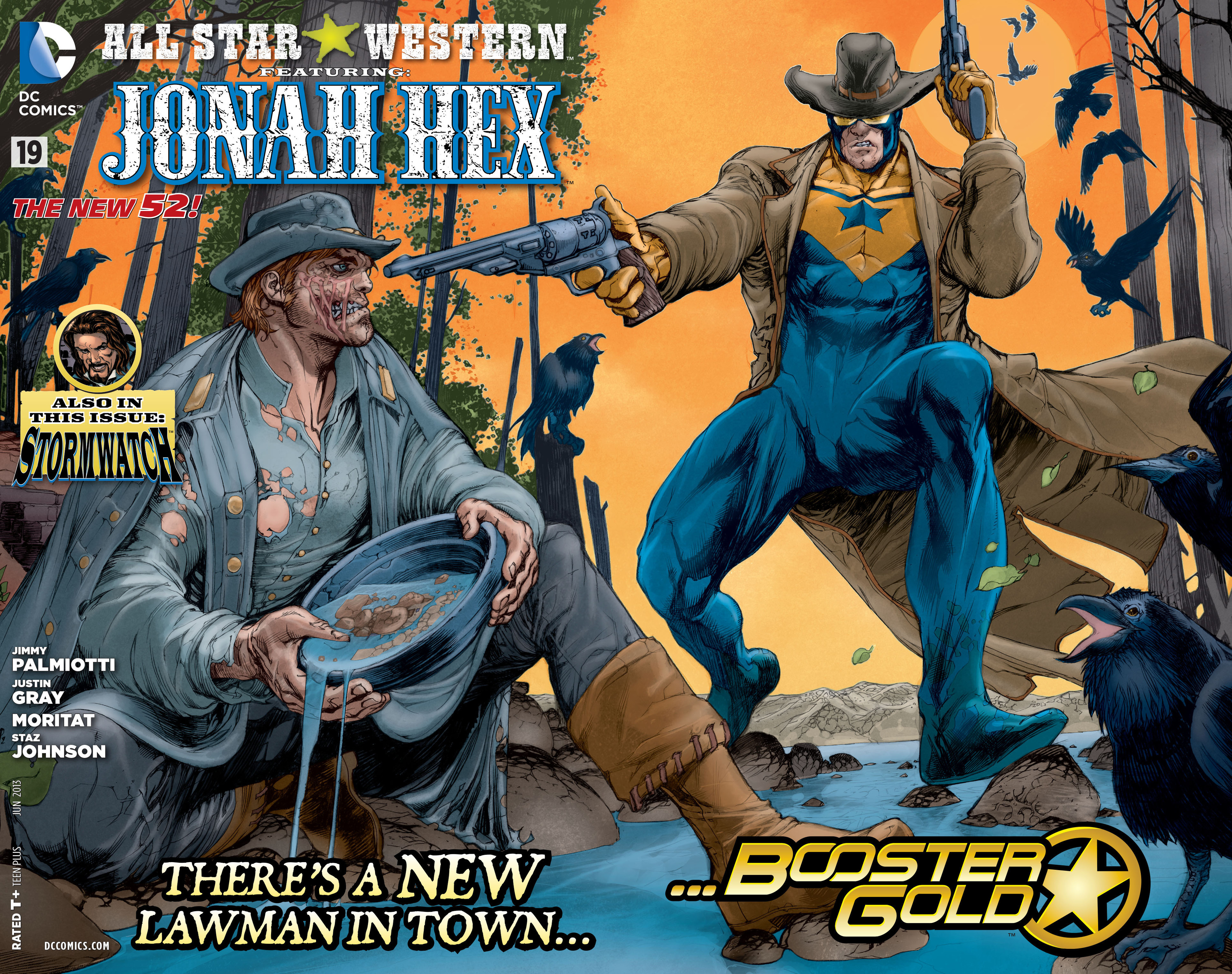 Read online All-Star Western (2011) comic -  Issue #19 - 2