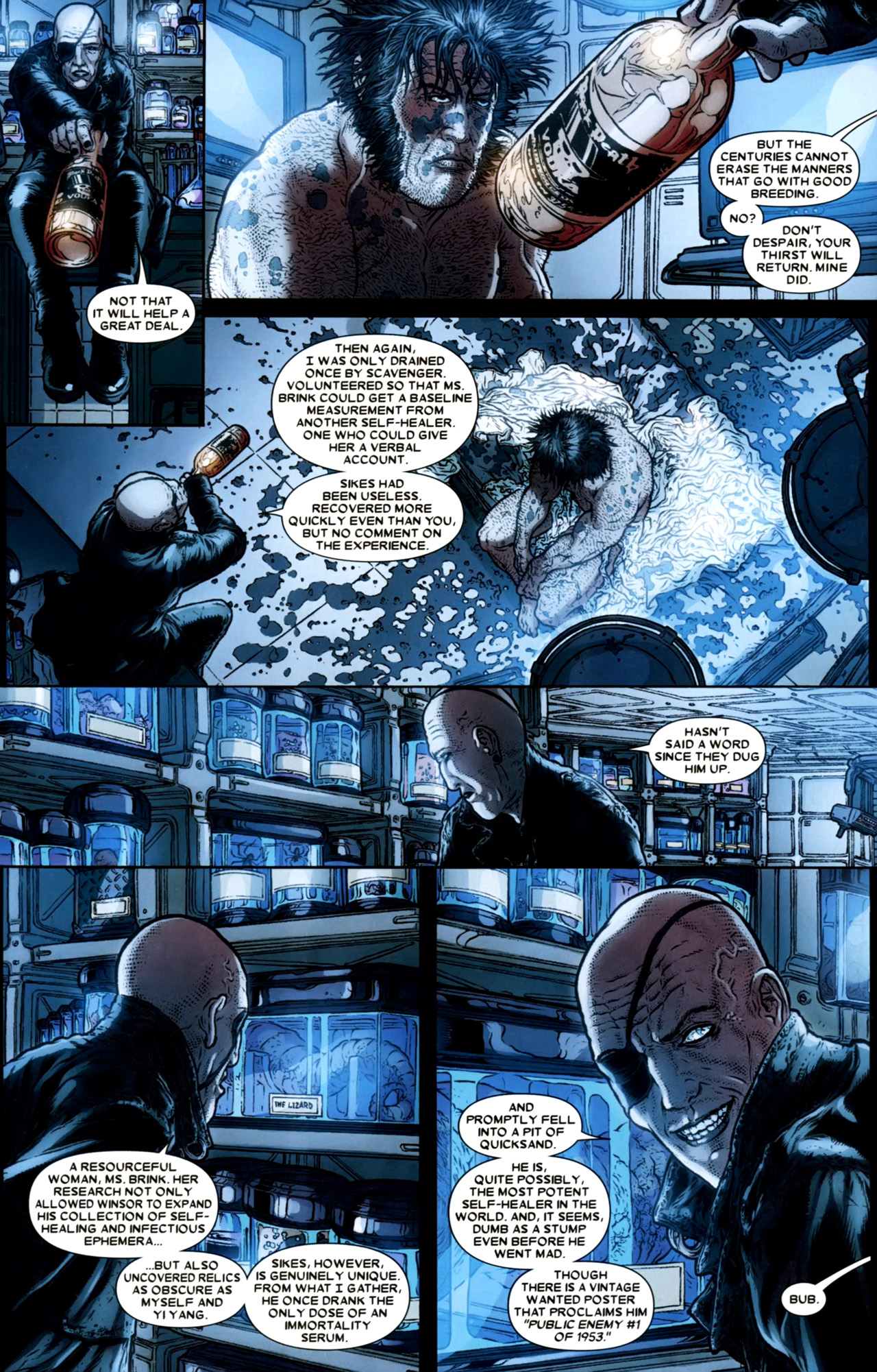 Read online Wolverine: The Best There Is comic -  Issue #4 - 20