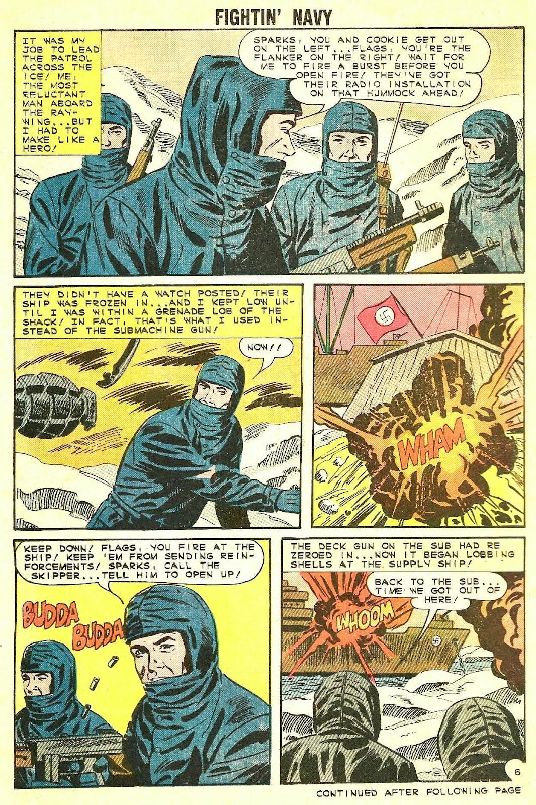 Read online Fightin' Navy comic -  Issue #115 - 14