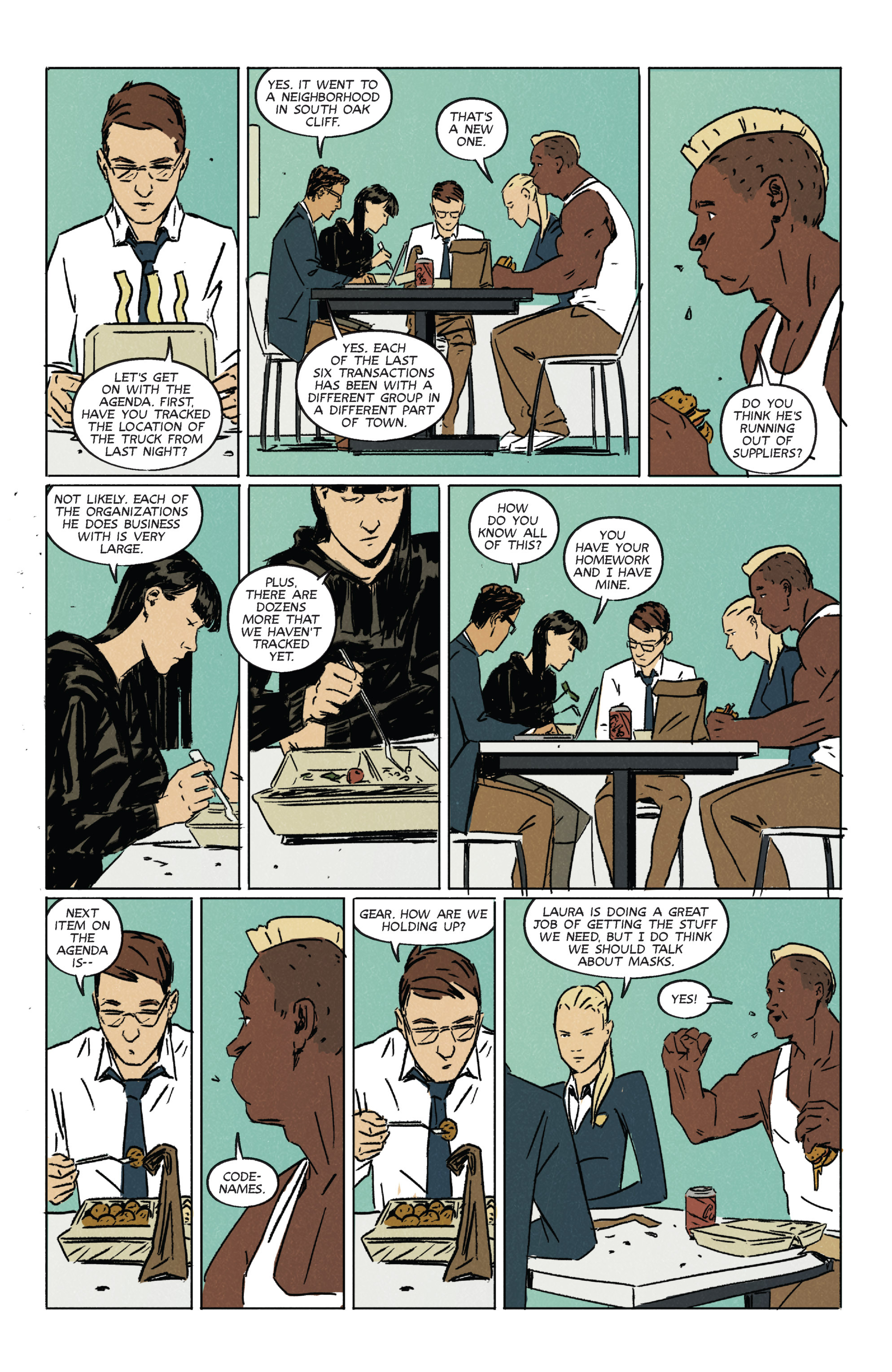 Read online Night Owl Society comic -  Issue #2 - 15