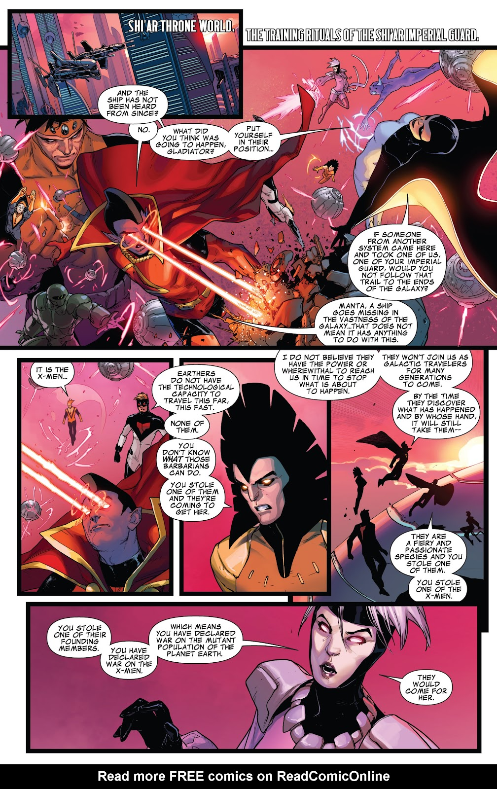 Guardians of the Galaxy/All-New X-Men: The Trial of Jean Grey issue TPB - Page 67