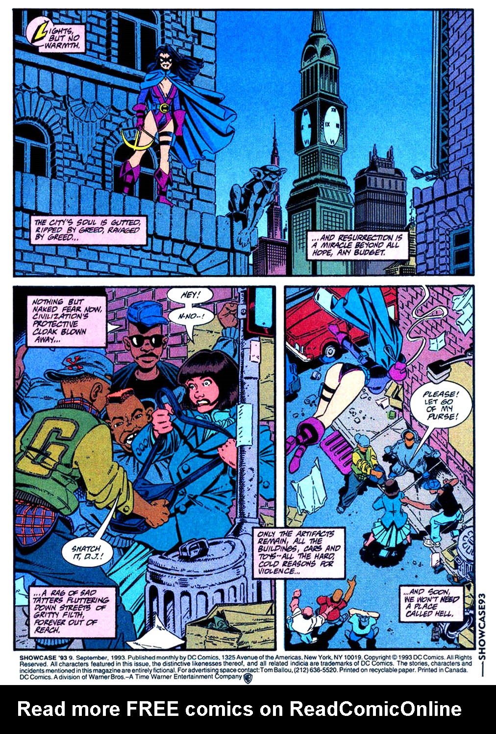 Read online Showcase '93 comic -  Issue #9 - 2