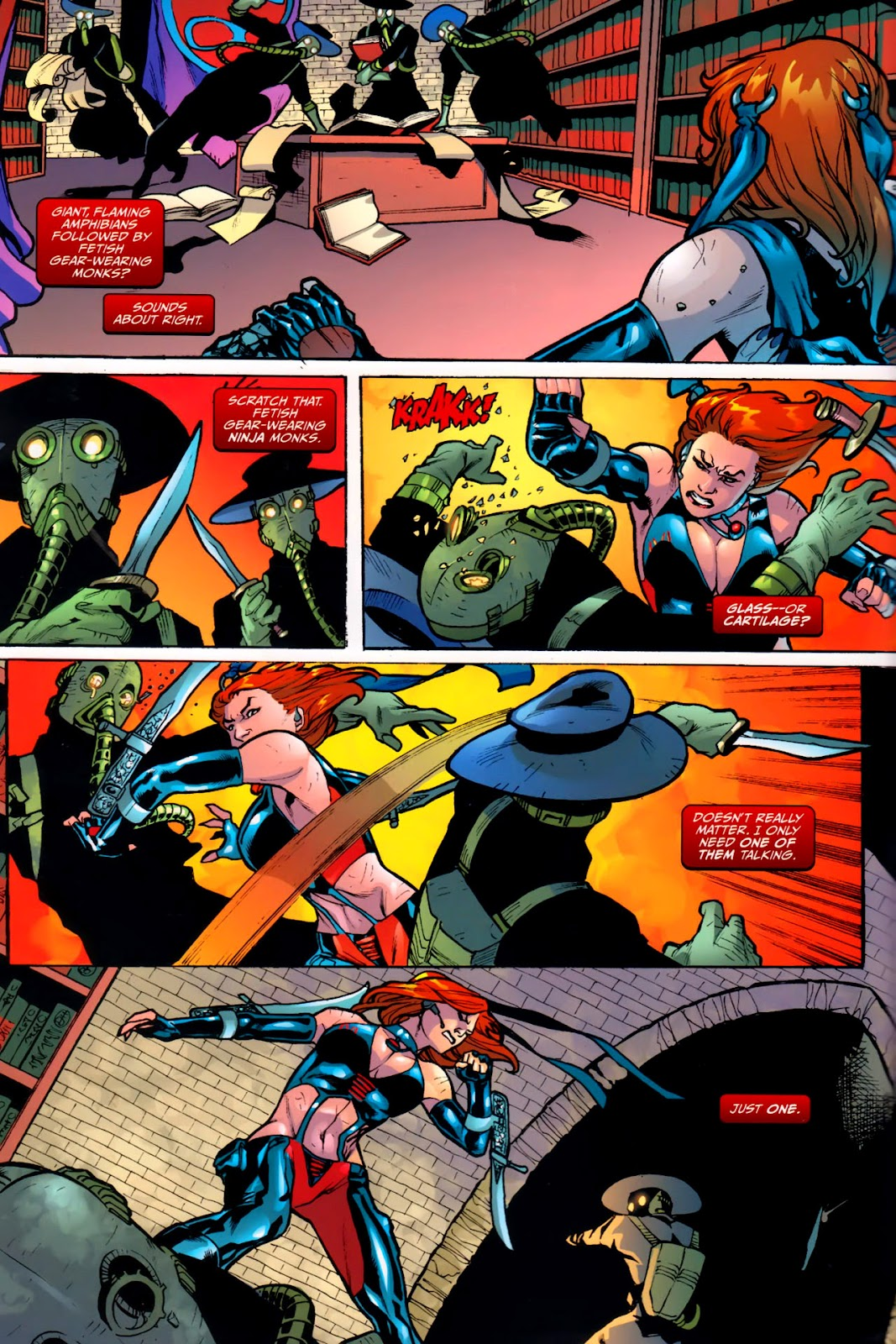 BloodRayne: Automaton issue Full - Page 15