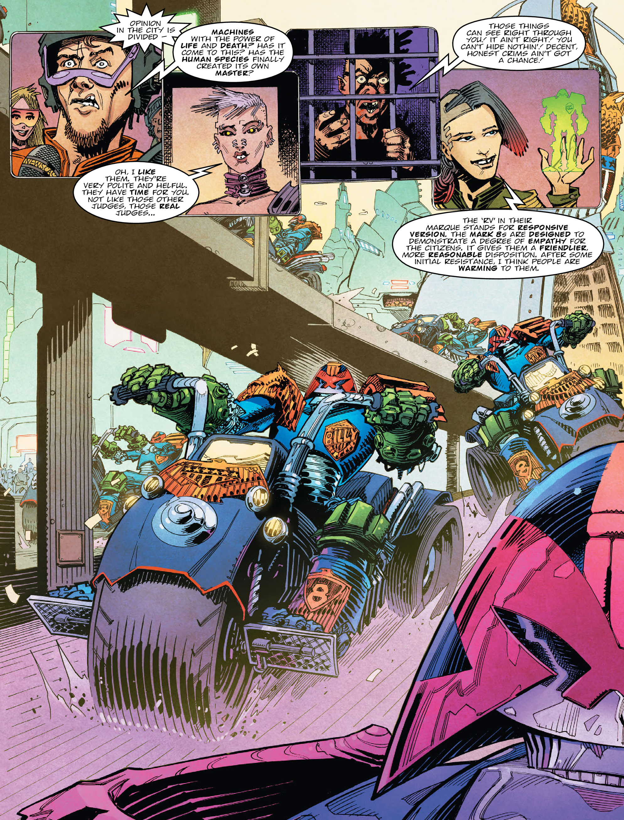 Read online 2000 AD comic -  Issue #2028 - 4