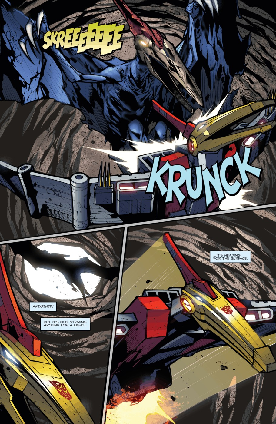 Read online Transformers Prime: Beast Hunters comic -  Issue #4 - 11