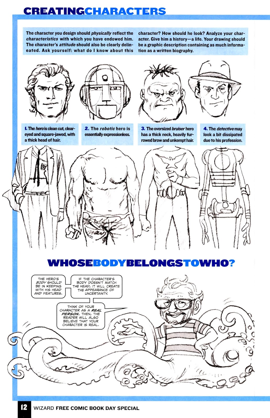 Read online Wizard How to Draw Sampler comic -  Issue # Full - 13