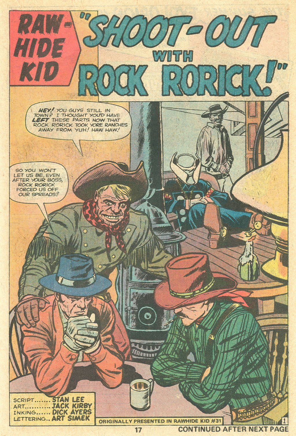 The Rawhide Kid (1955) issue 141 - Page 19