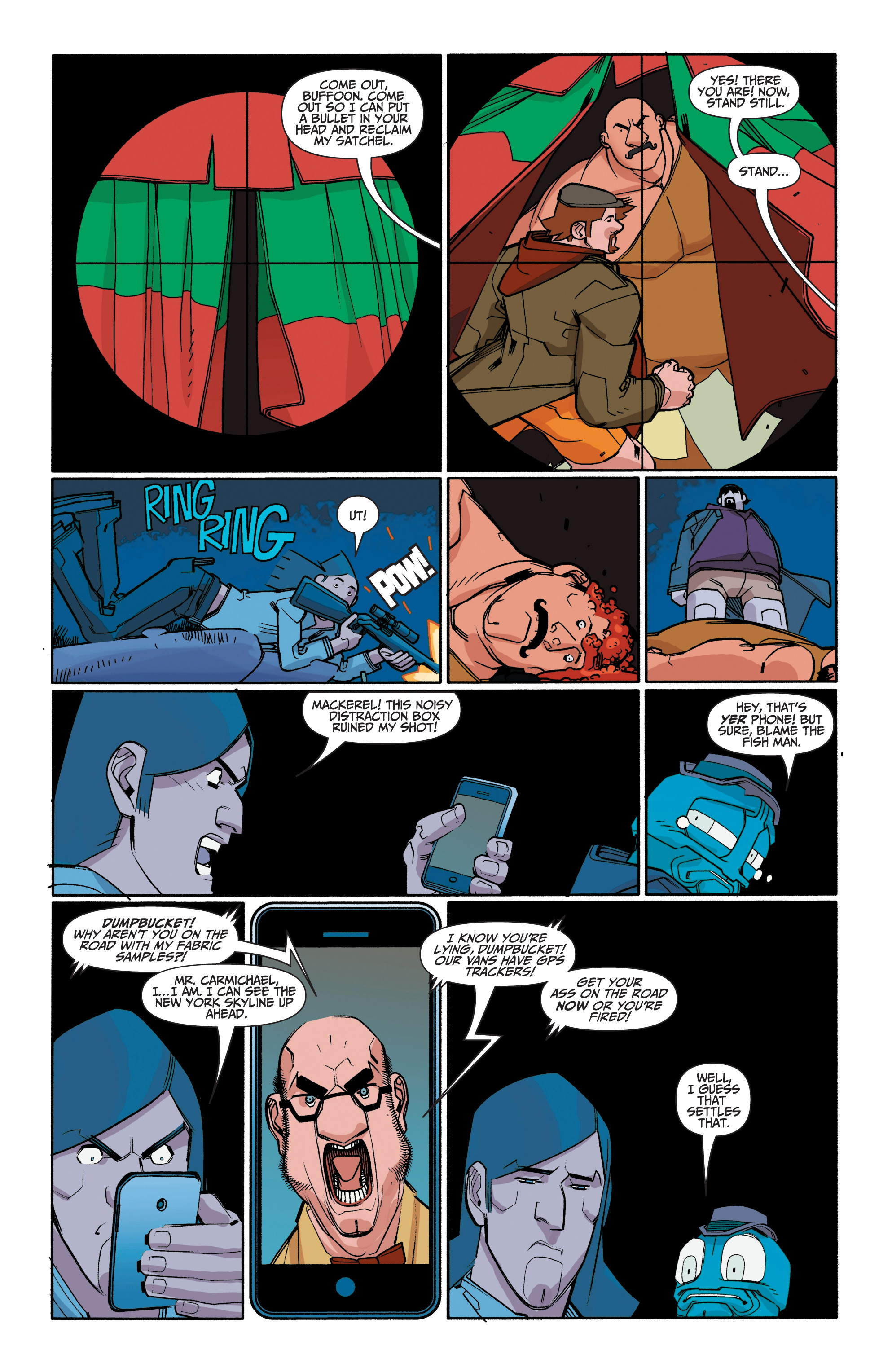 Read online A&A: The Adventures of Archer & Armstrong comic -  Issue #8 - 24