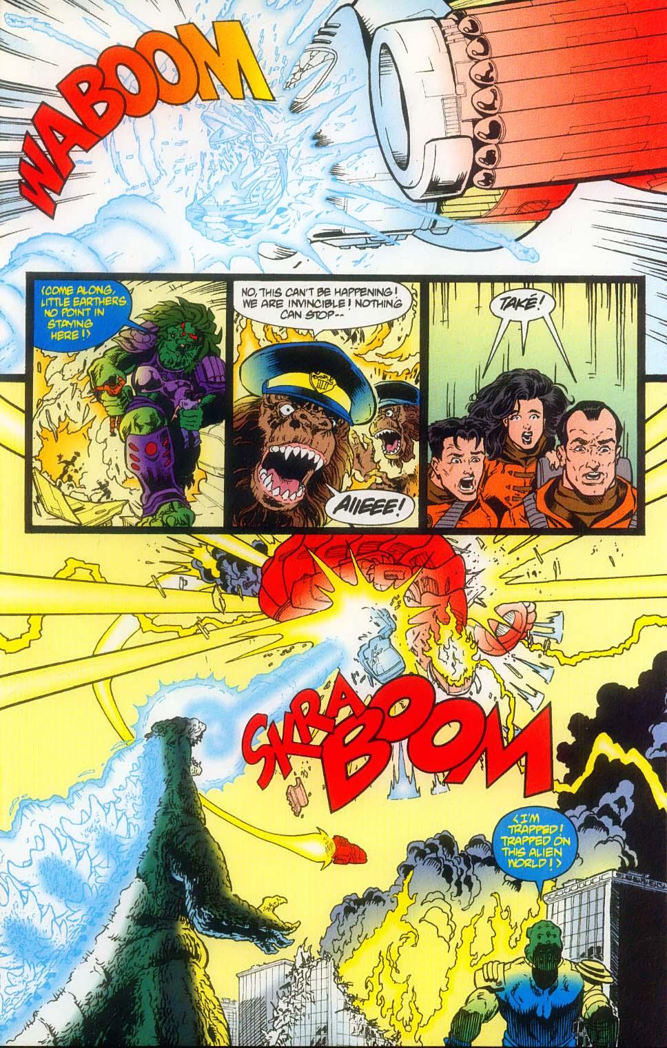 Godzilla (1995) Issue #8 #9 - English 25