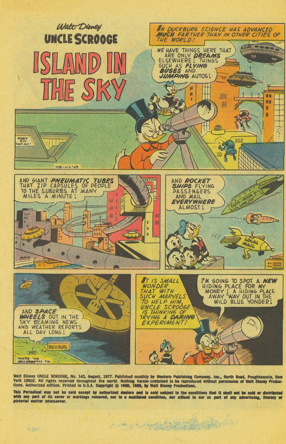 Read online Uncle Scrooge (1953) comic -  Issue #143 - 3