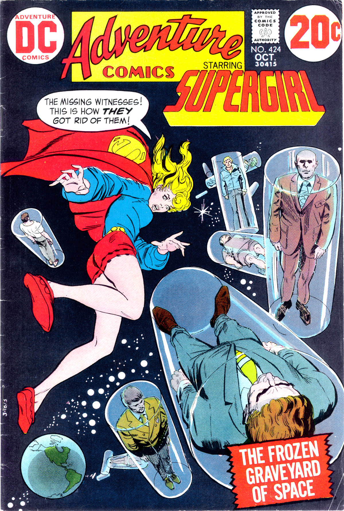 Read online Adventure Comics (1938) comic -  Issue #424 - 1