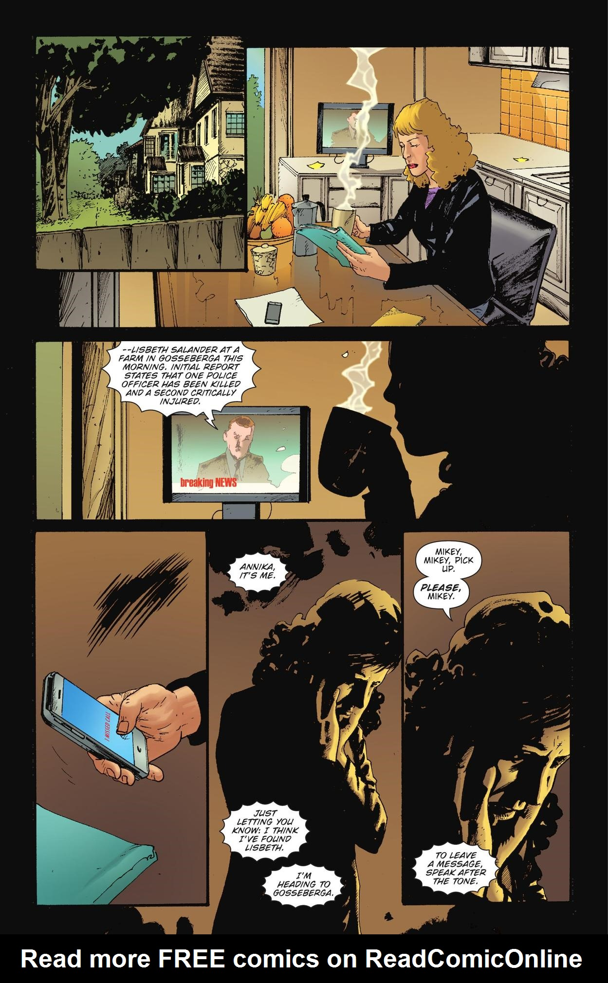 Read online The Girl Who Kicked The Hornet's Nest comic -  Issue # TPB - 19