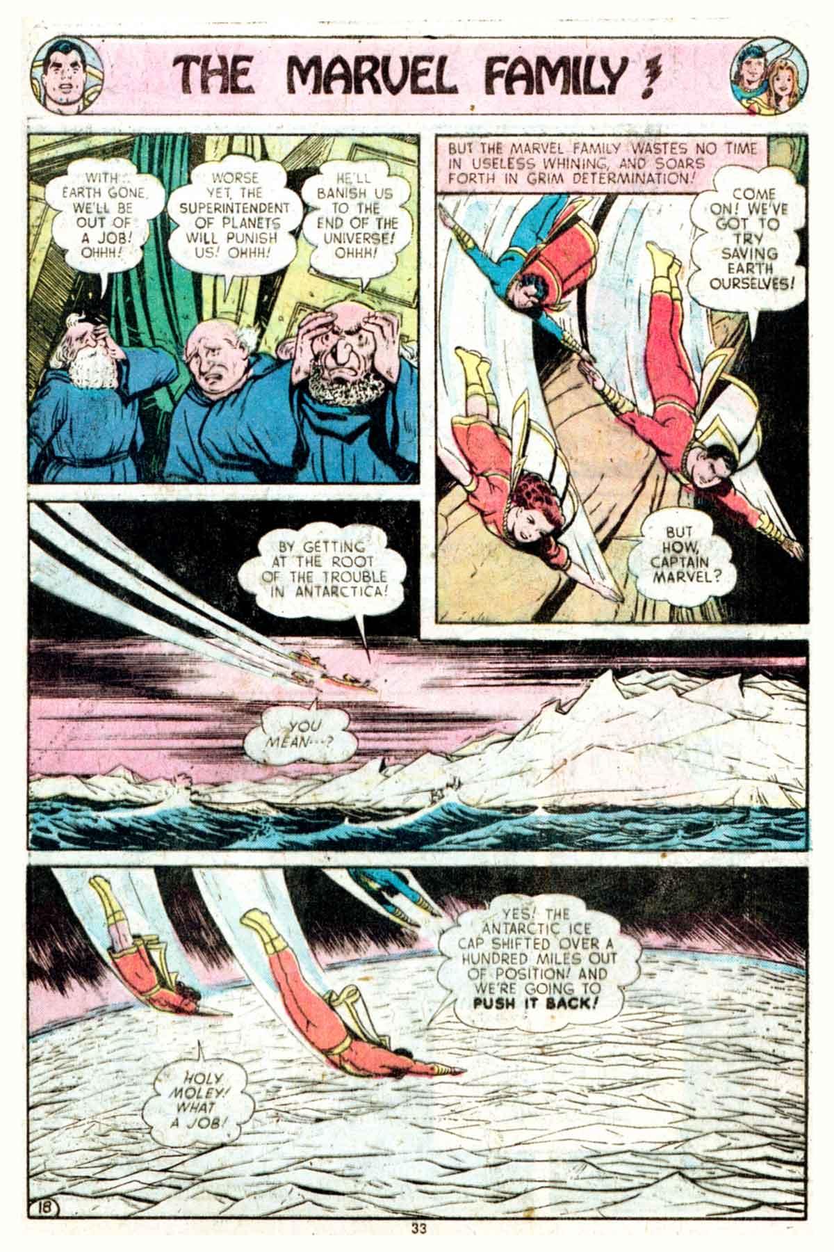 Read online Shazam! (1973) comic -  Issue #16 - 33