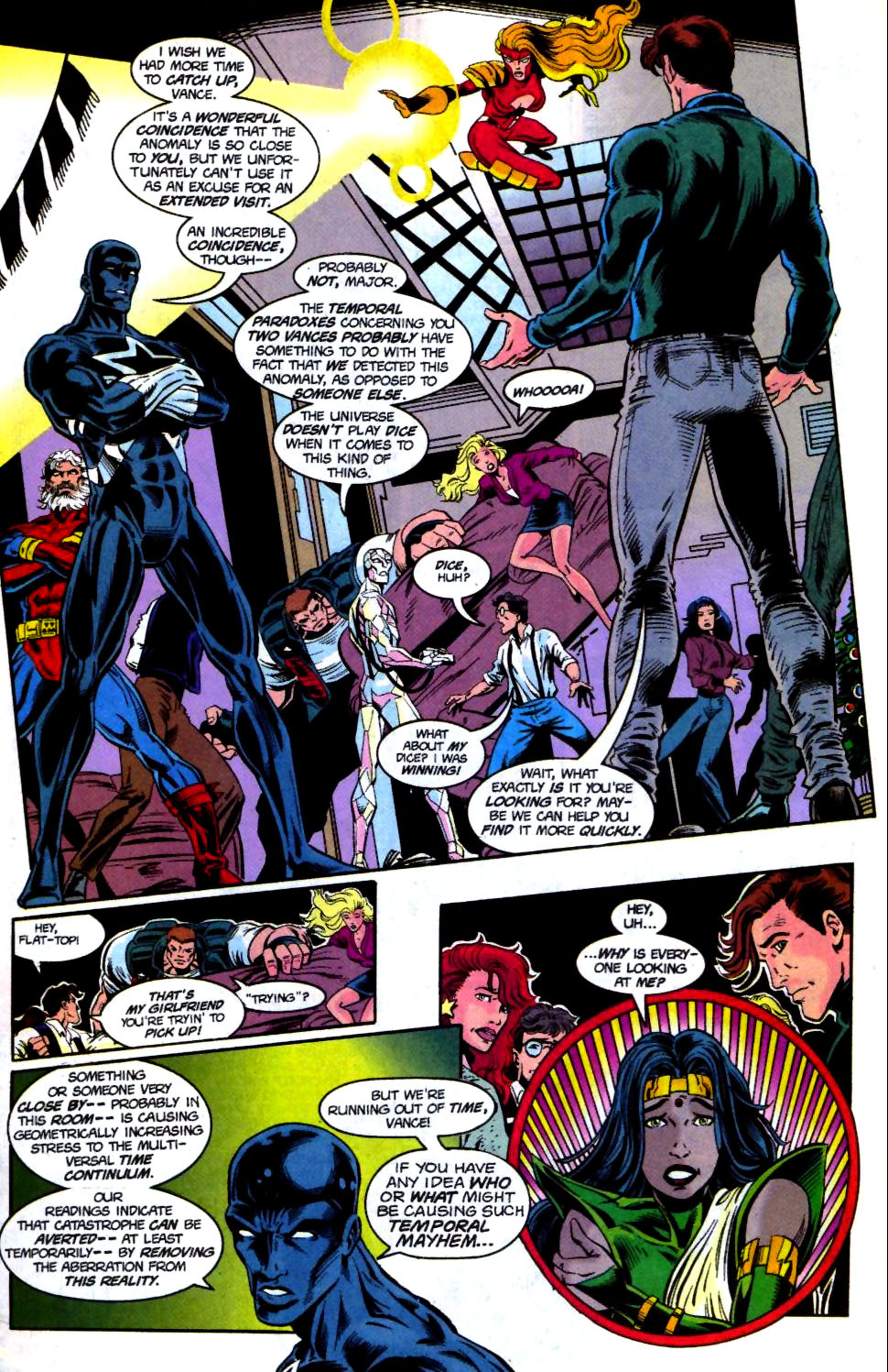 The New Warriors Issue #68 #72 - English 13