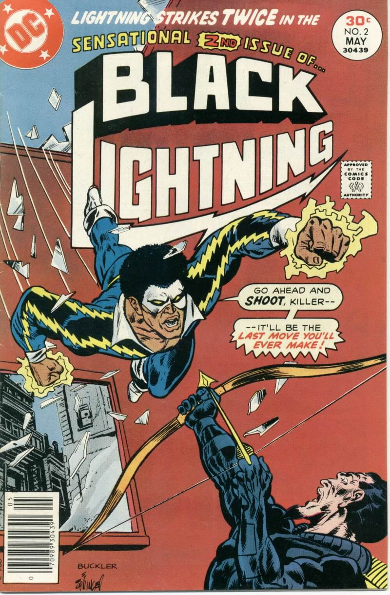 Black Lightning (1977) issue 2 - Page 1