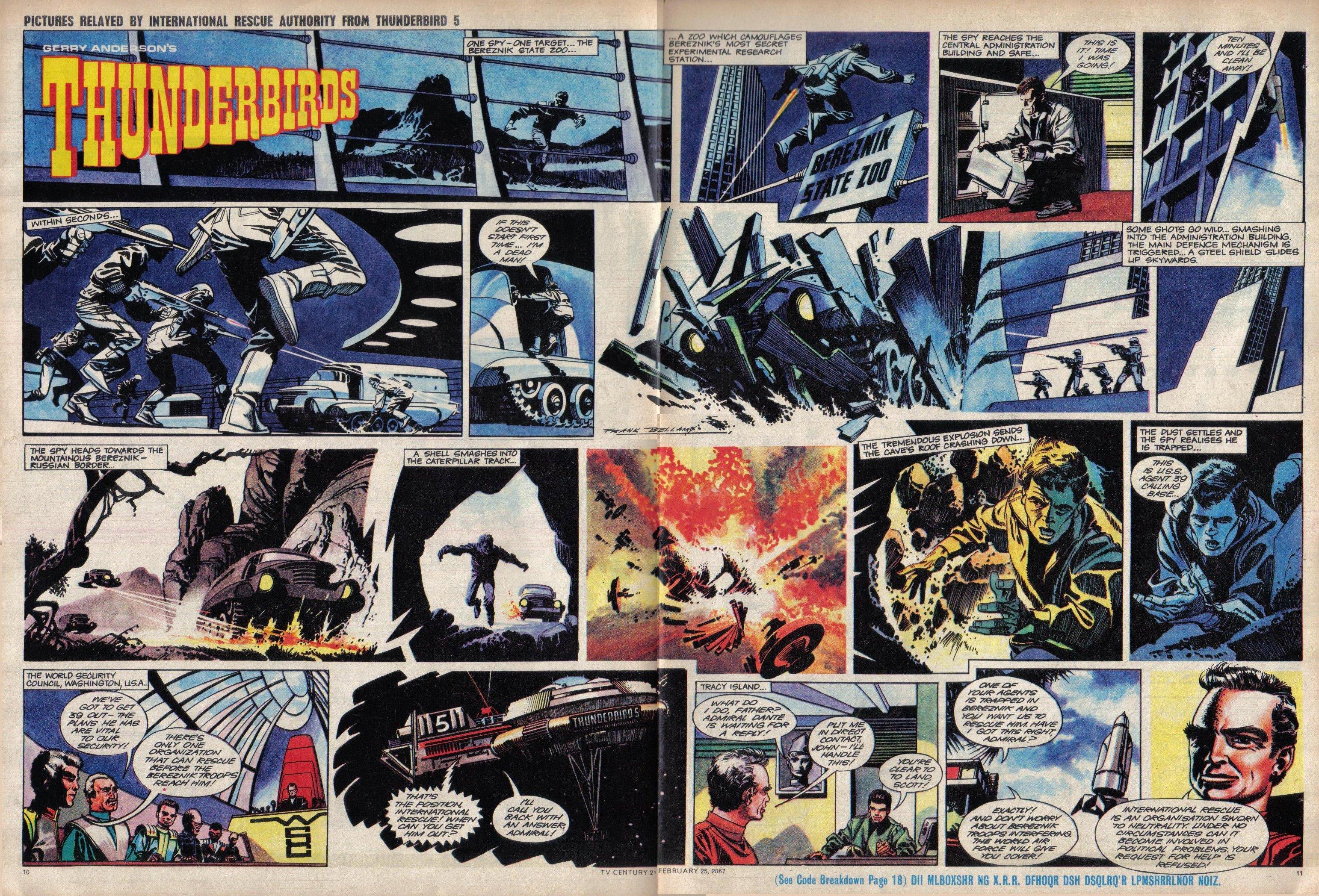 Read online TV Century 21 (TV 21) comic -  Issue #110 - 10