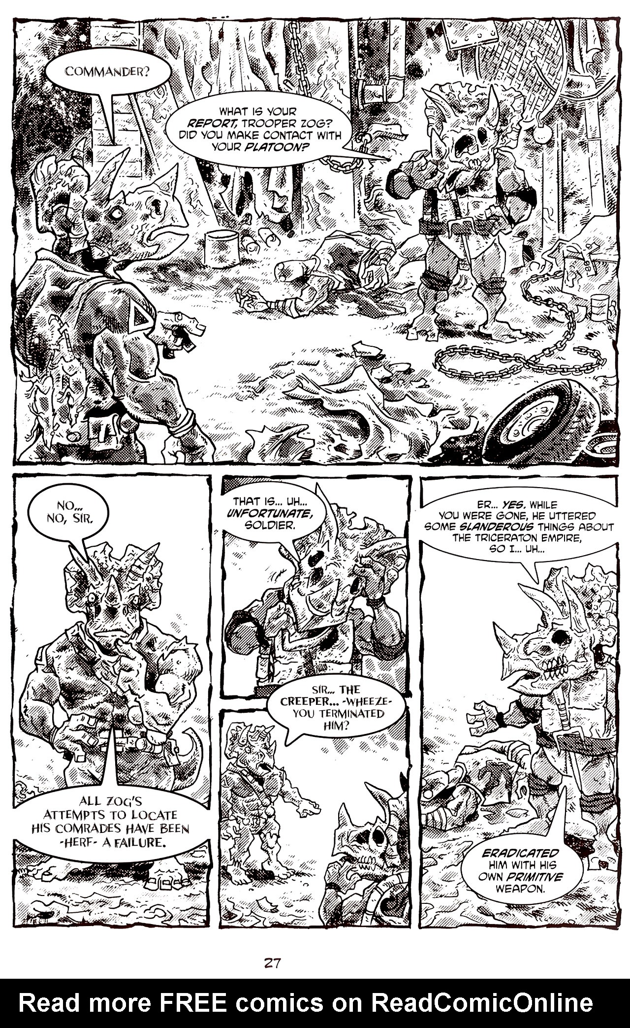 Read online Tales of the TMNT comic -  Issue #70 - 32