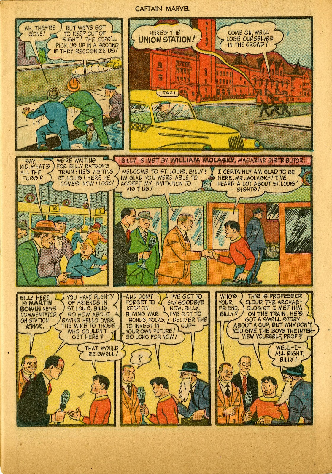 Captain Marvel Adventures issue 36 - Page 5