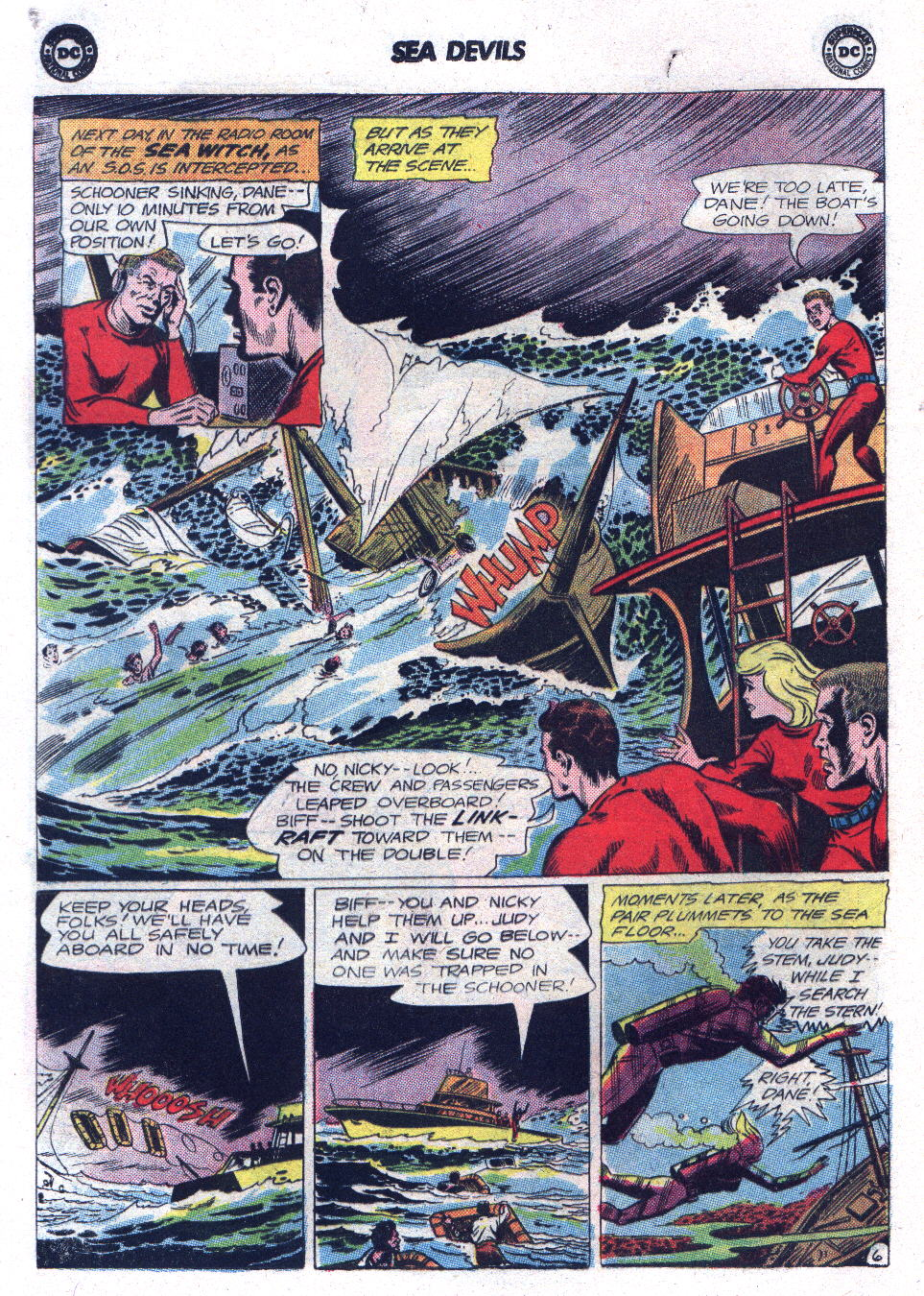 Read online Sea Devils comic -  Issue #17 - 8