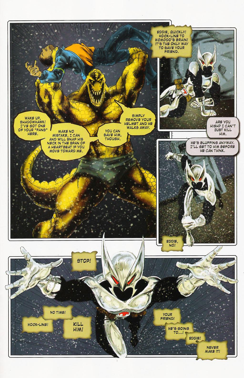 Read online ShadowHawk (2005) comic -  Issue #9 - 19