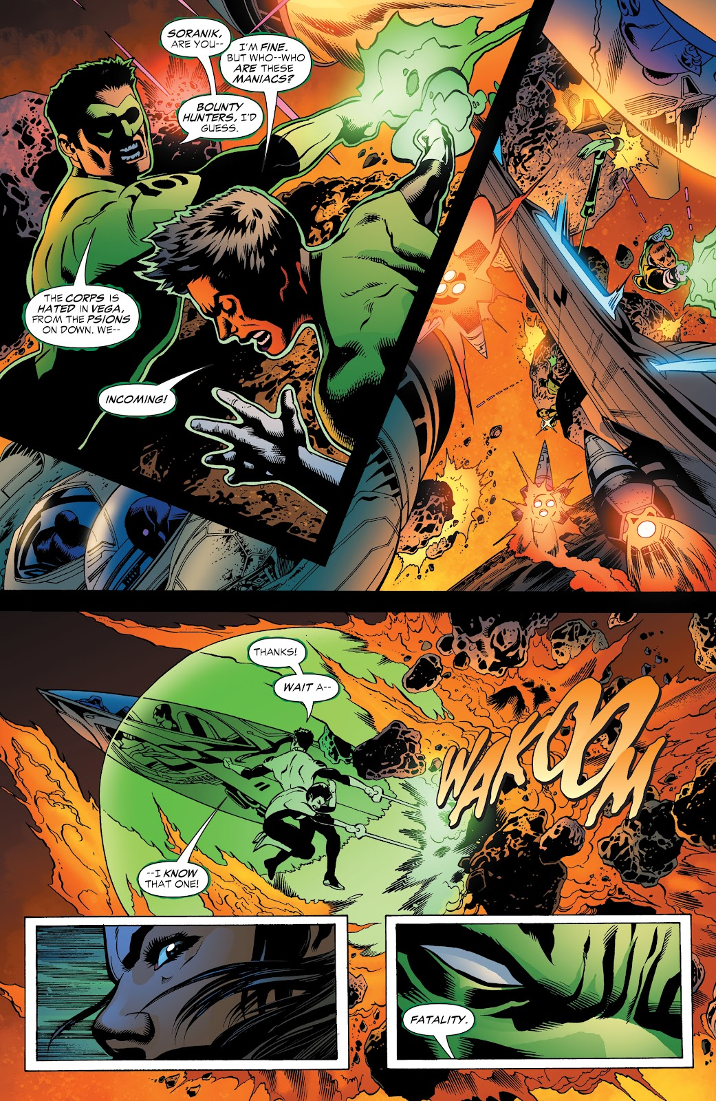 Read online Green Lantern by Geoff Johns comic -  Issue # TPB 1 (Part 3) - 48