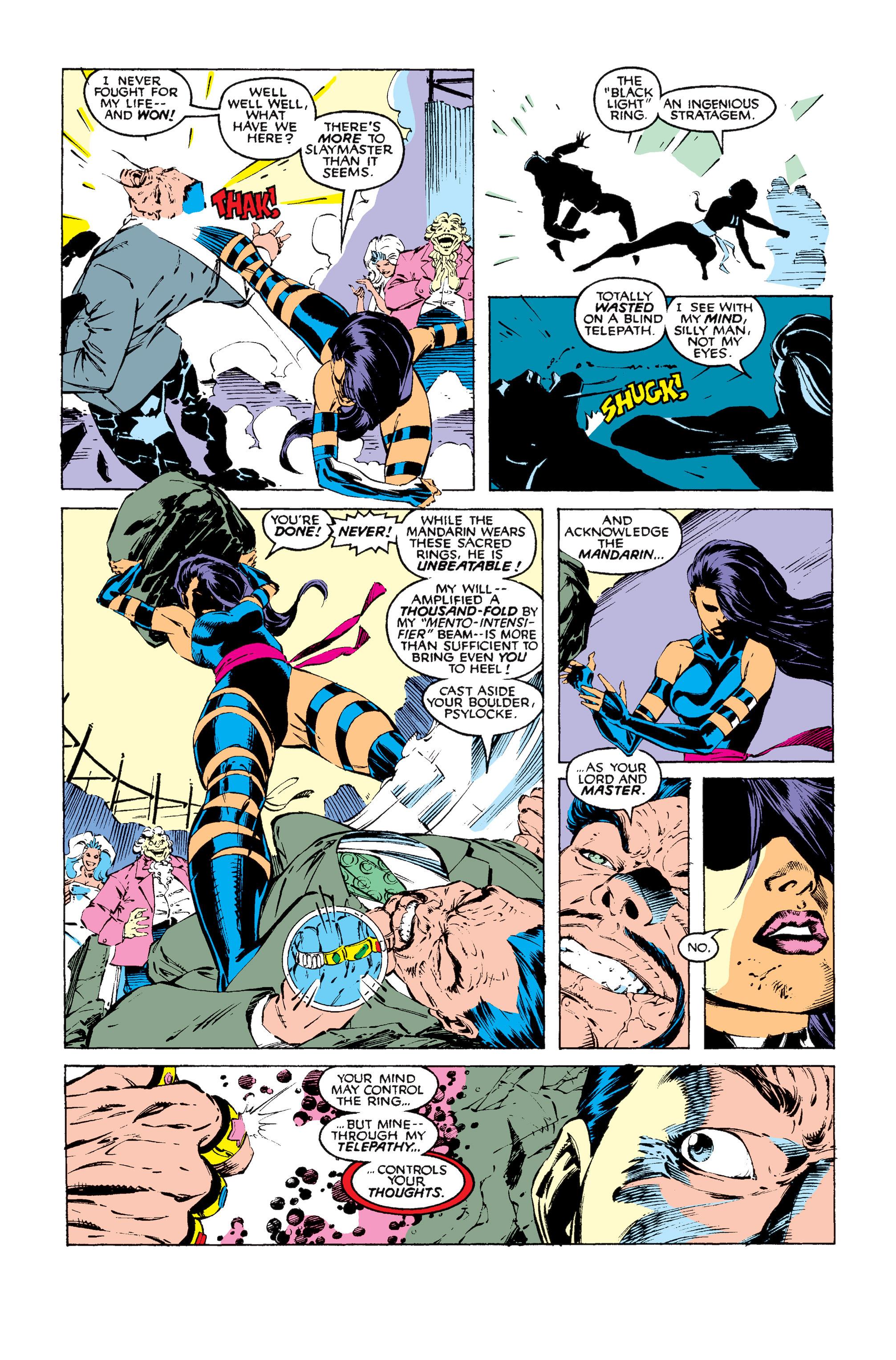 Read online Uncanny X-Men (1963) comic -  Issue #256 - 23