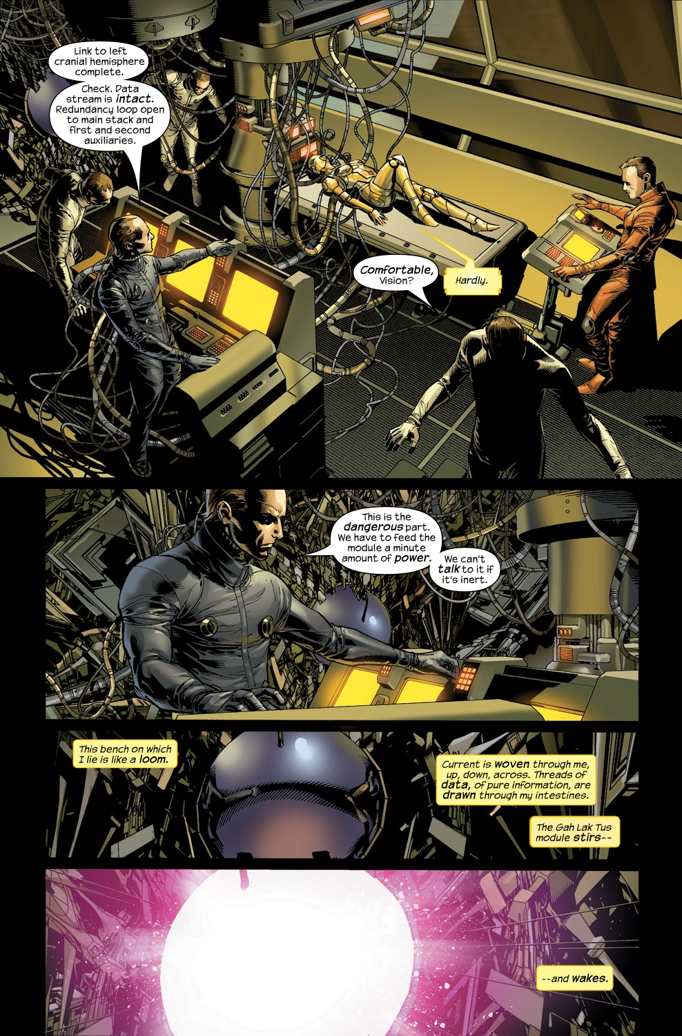 Read online Ultimate Vision comic -  Issue #1 - 19