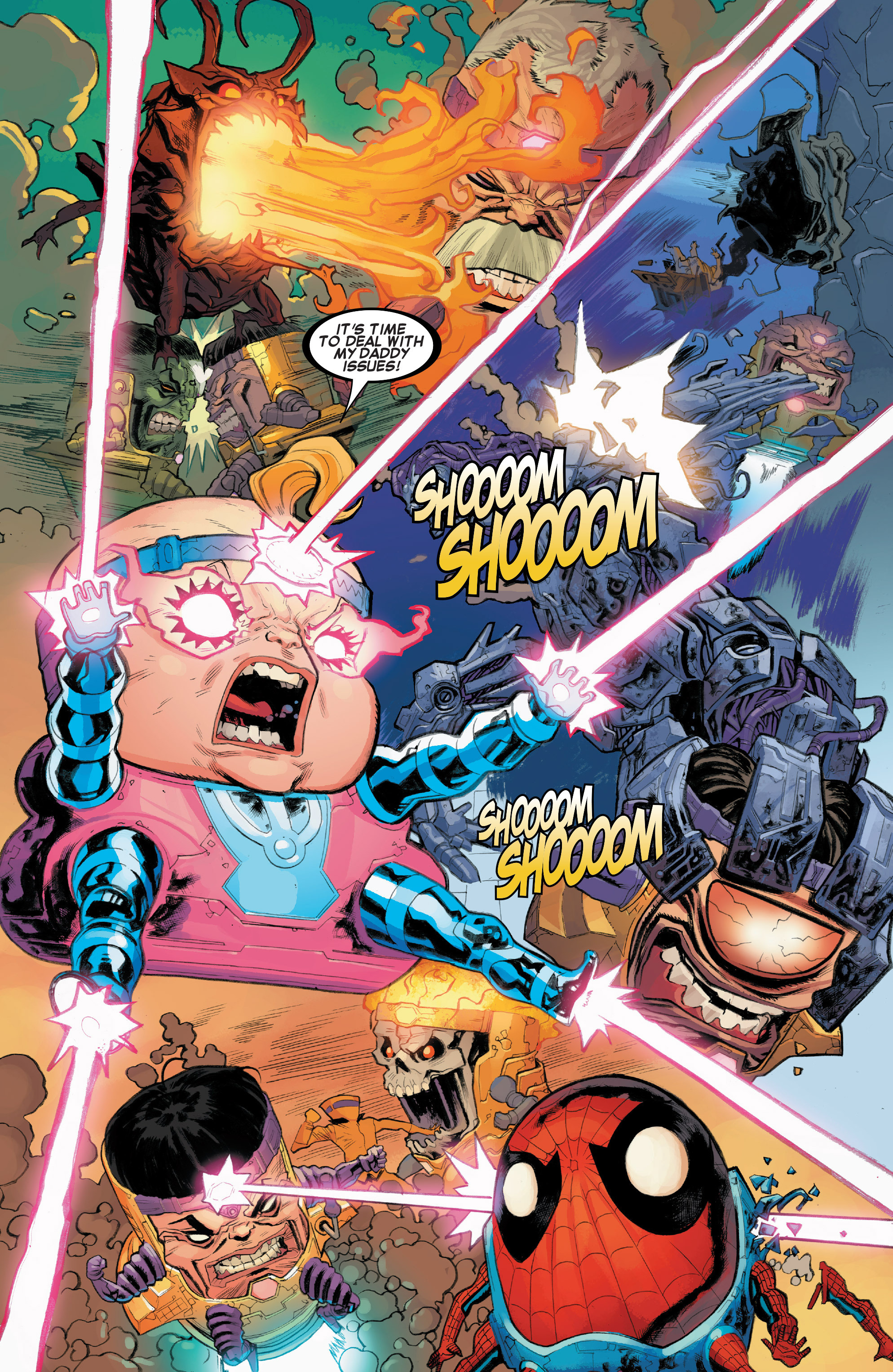 Read online Secret Wars: Battleworld comic -  Issue #1 - 19