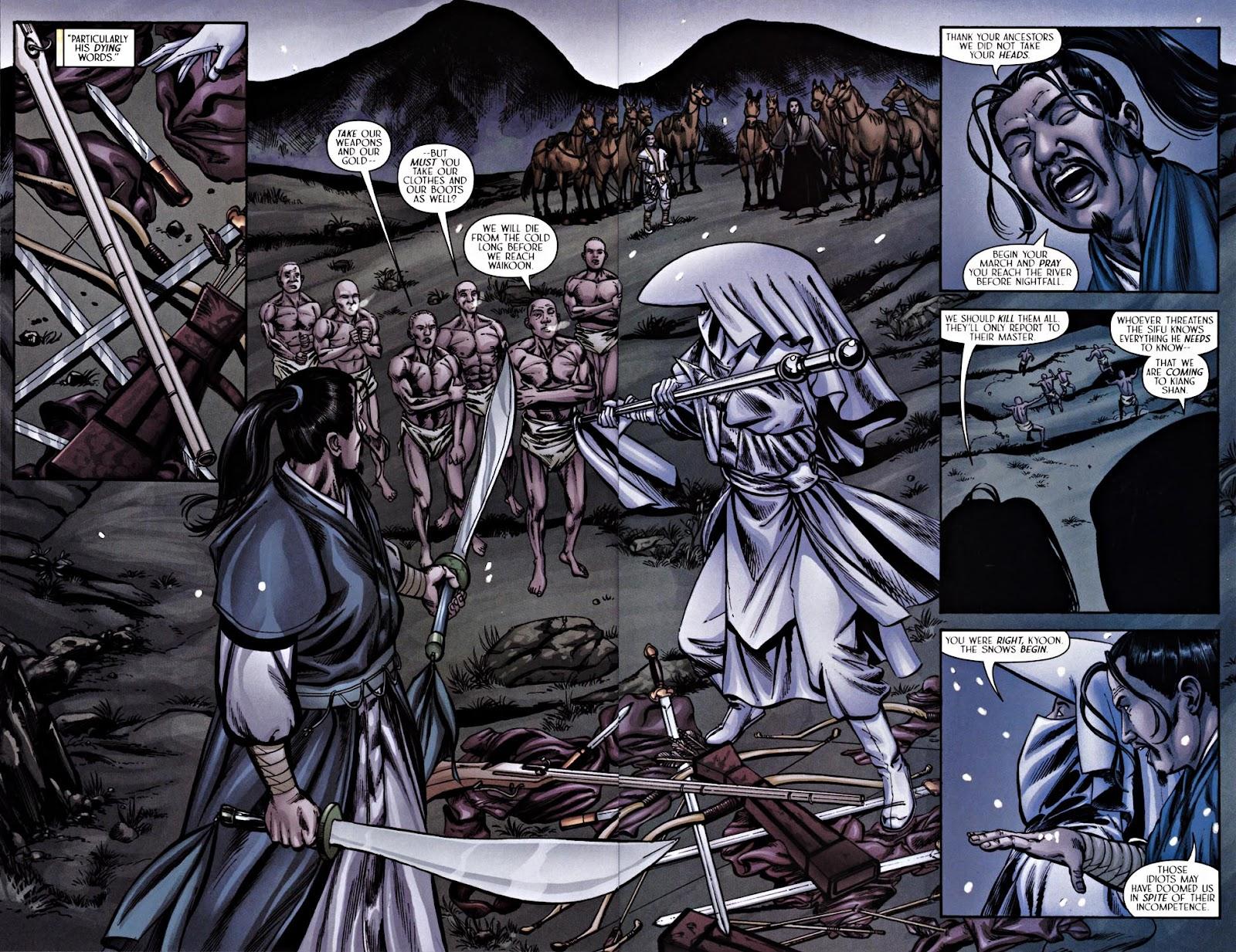 Read online Silken Ghost comic -  Issue #2 - 18