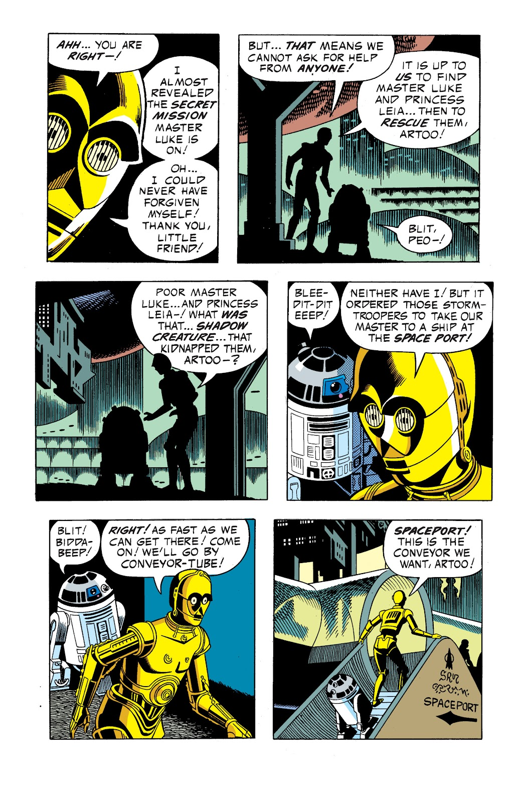 Read online Star Wars Legends: The Newspaper Strips - Epic Collection comic -  Issue # TPB (Part 1) - 54