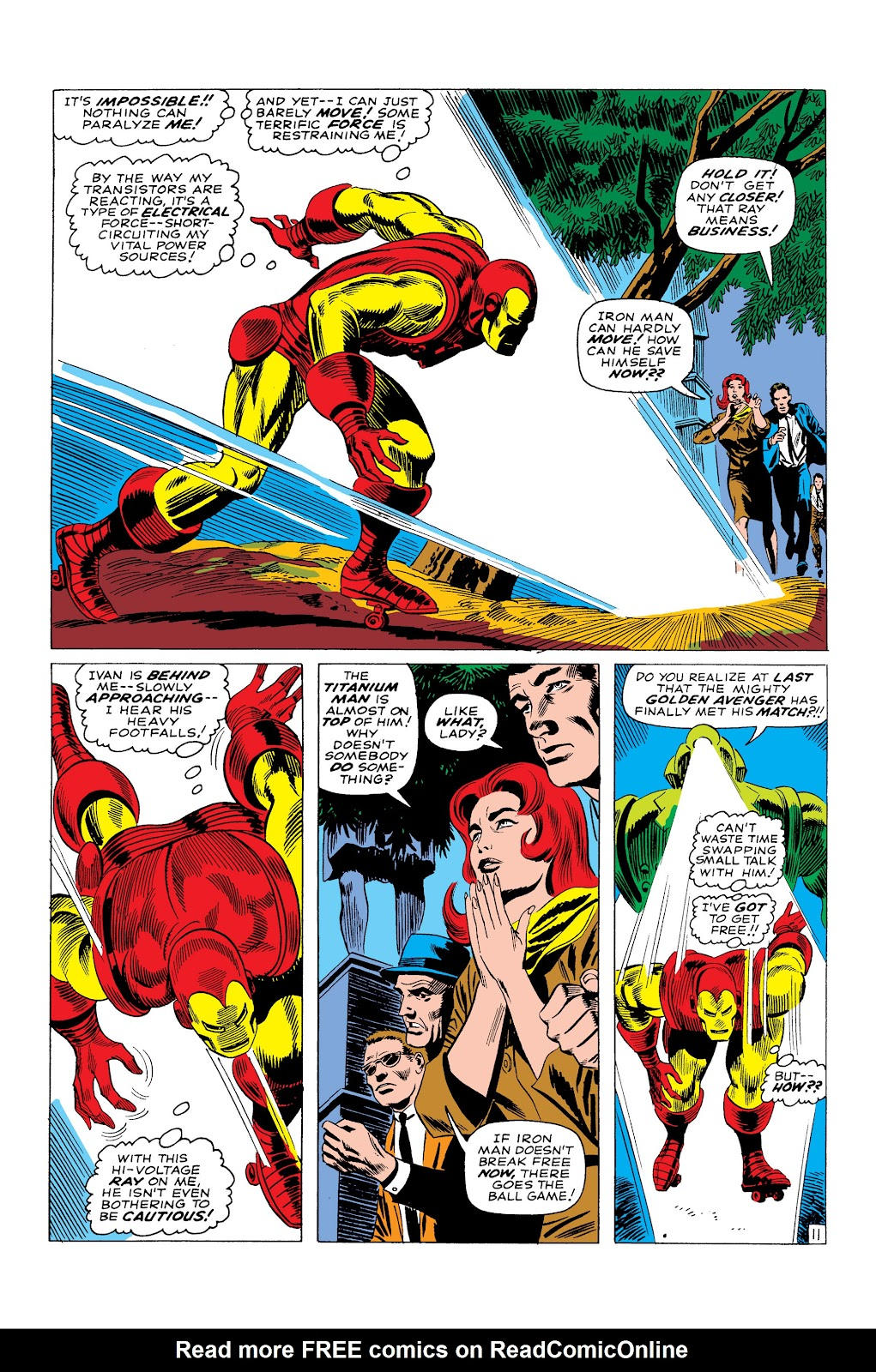 Read online Marvel Masterworks: The Invincible Iron Man comic -  Issue # TPB 3 (Part 4) - 82