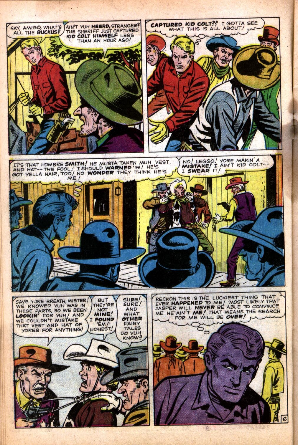 Gunsmoke Western issue 64 - Page 10