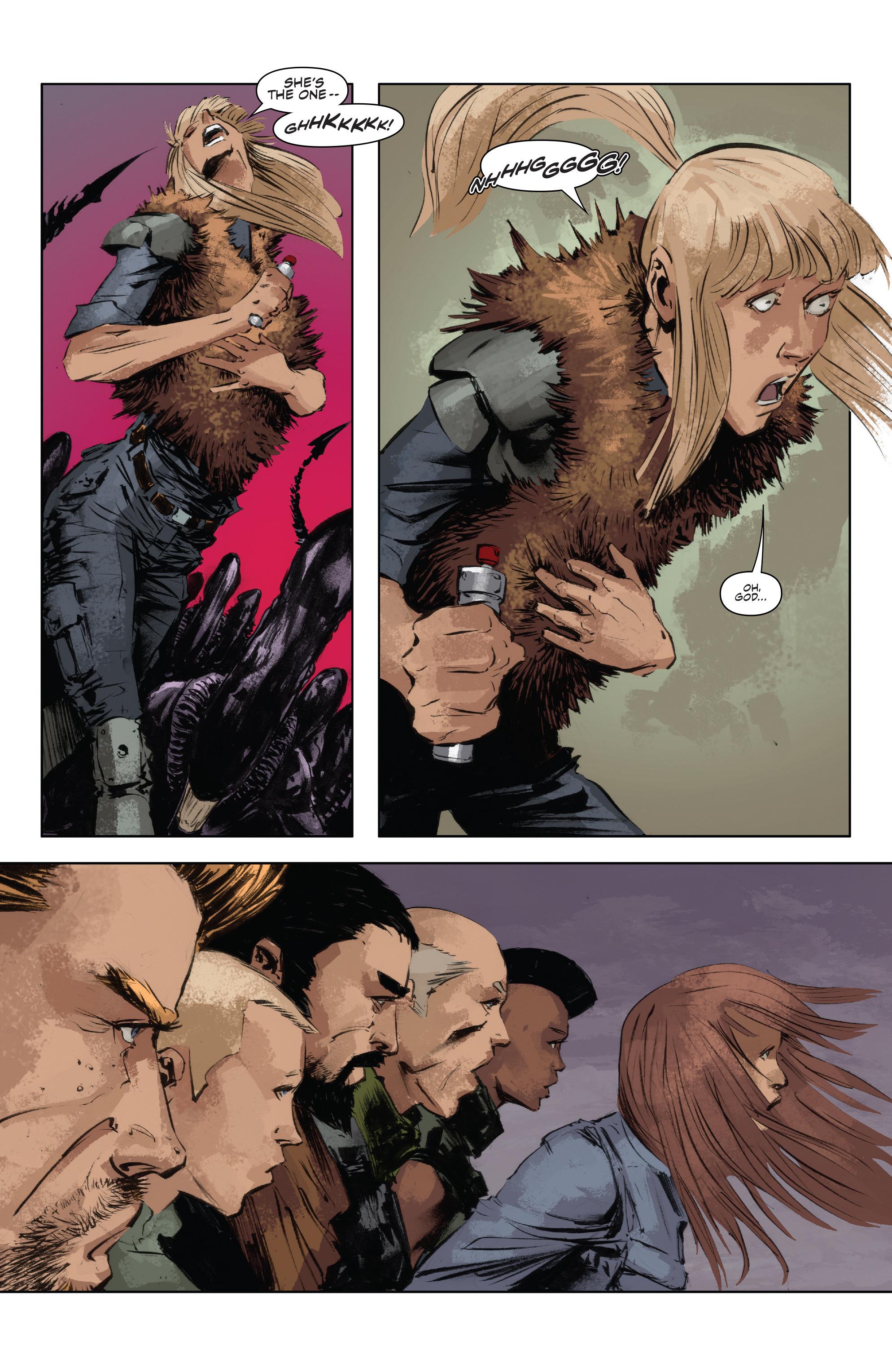 Read online Alien Vs. Predator: Life and Death comic -  Issue #4 - 11