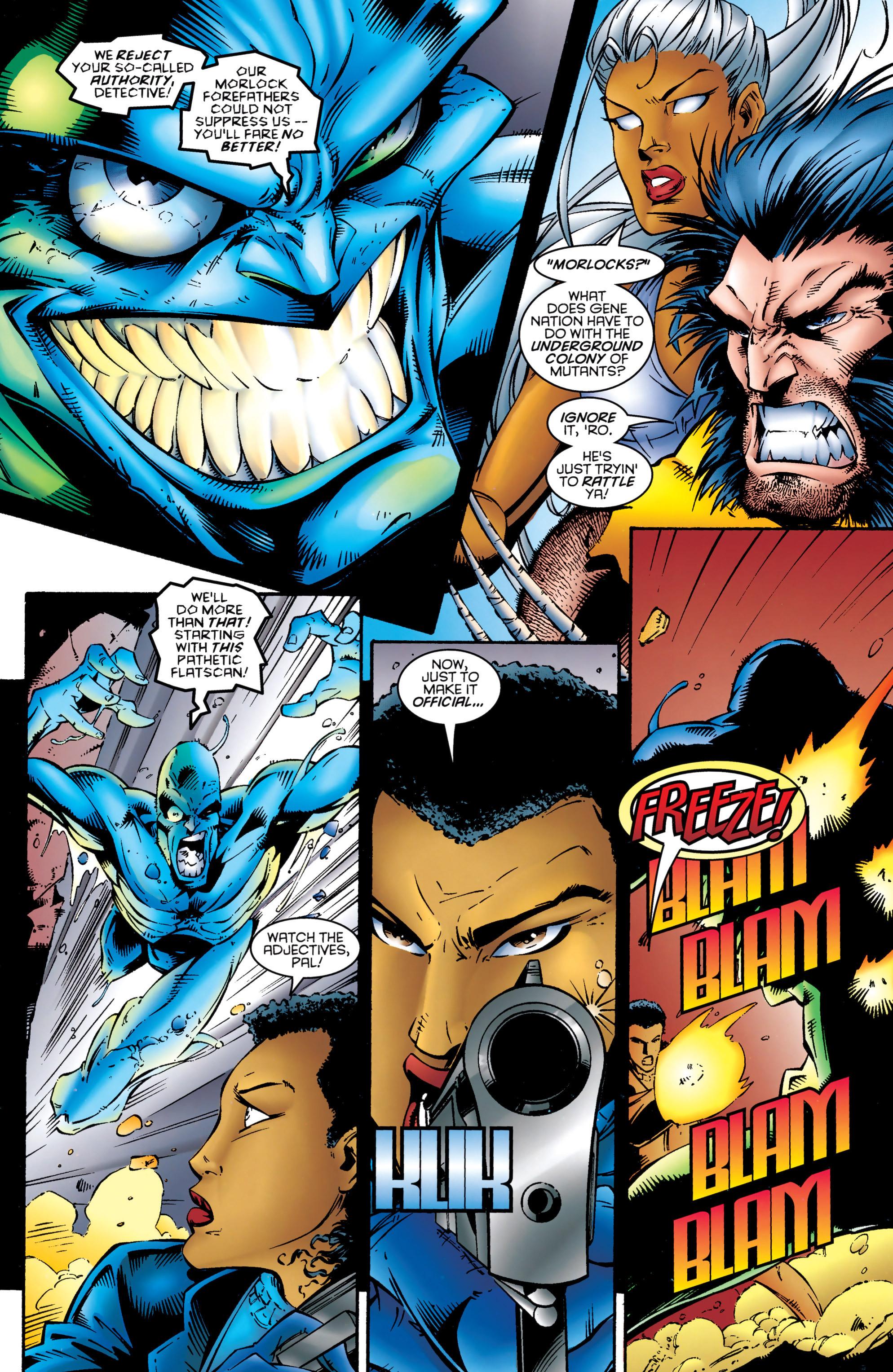 Read online Uncanny X-Men (1963) comic -  Issue #324 - 7