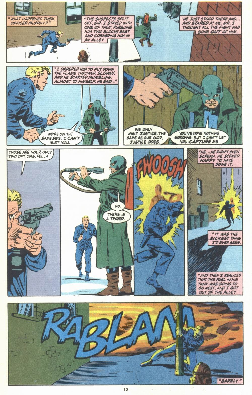 Read online Justice (1986) comic -  Issue #23 - 14