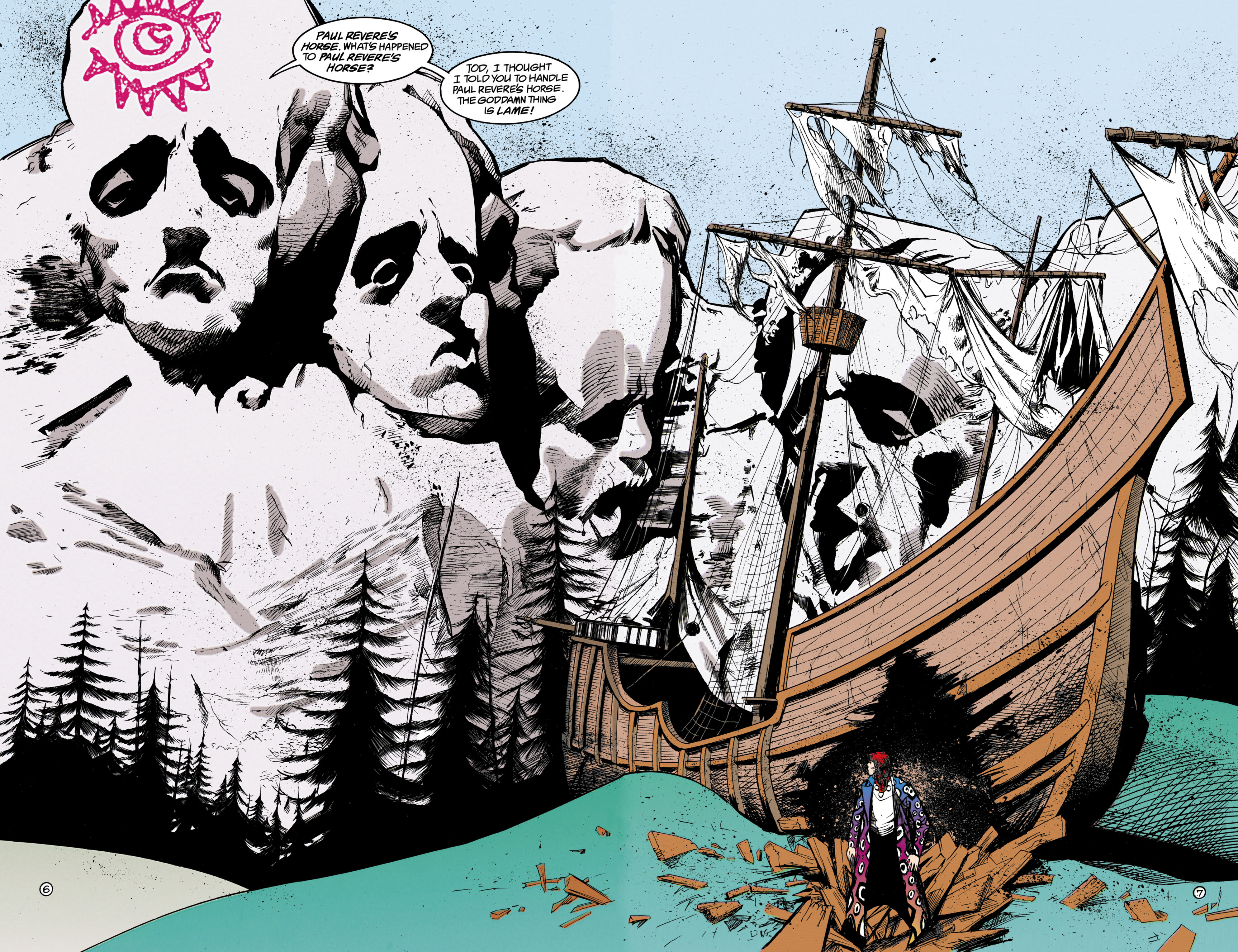Read online Shade, the Changing Man comic -  Issue #18 - 7