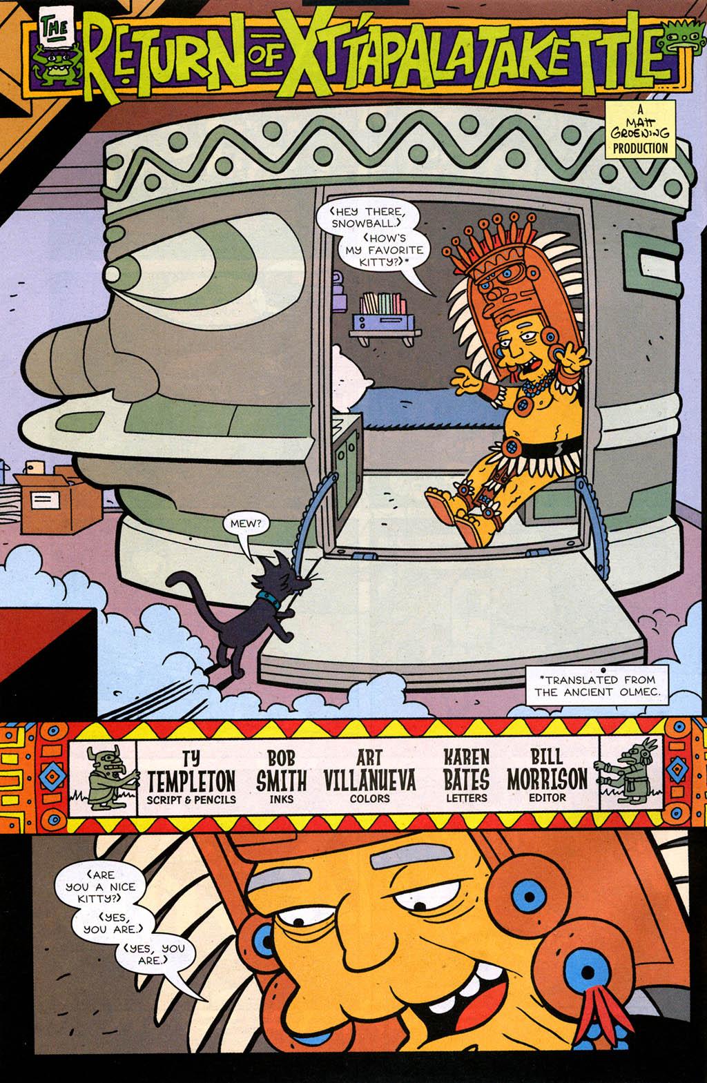 Read online Simpsons Comics comic -  Issue #98 - 3