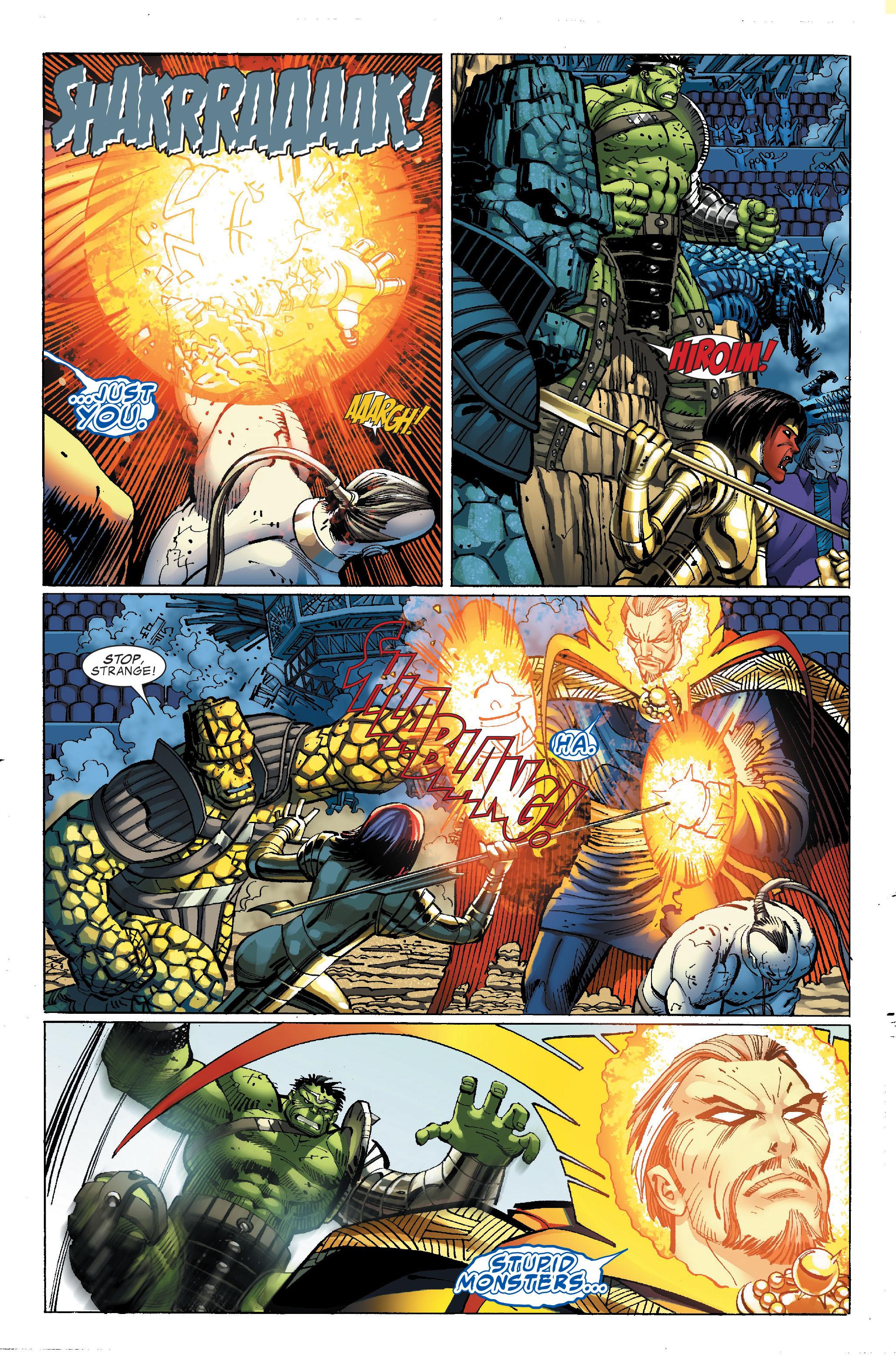 Read online World War Hulk comic -  Issue #4 - 5